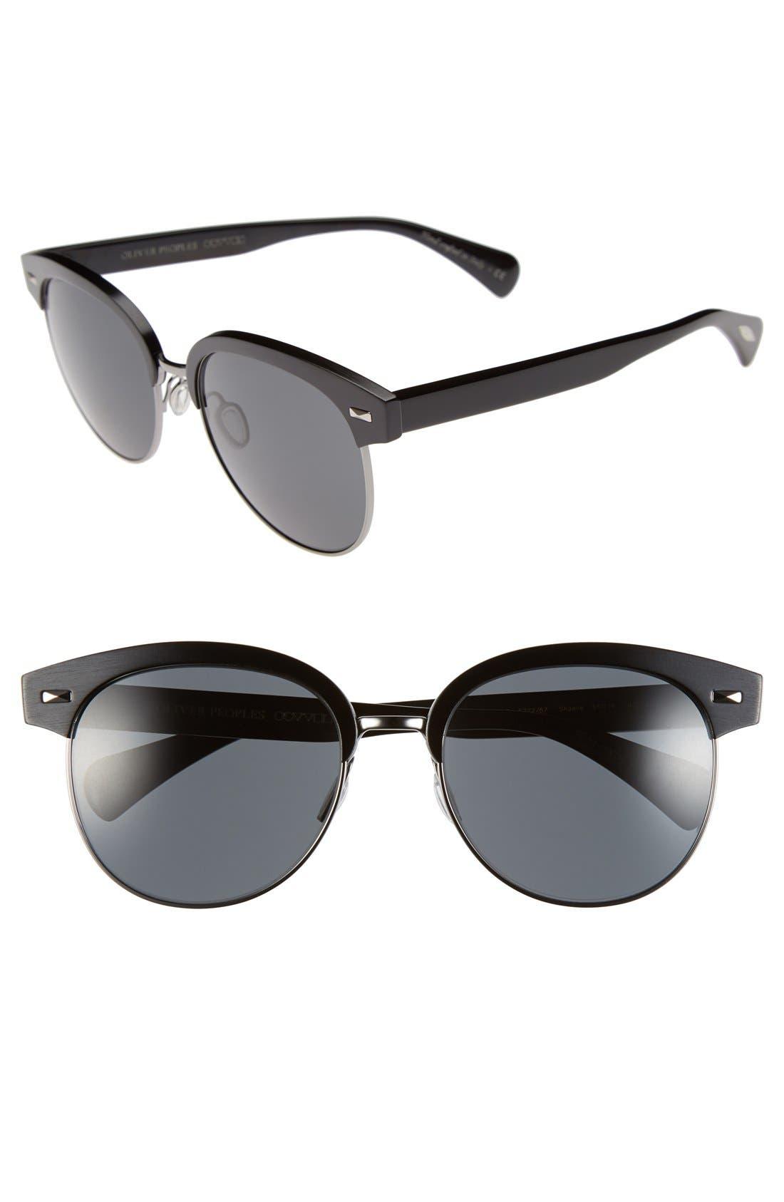Alternate Image 1 Selected - Oliver Peoples 'Shaelie' 55mm Sunglasses