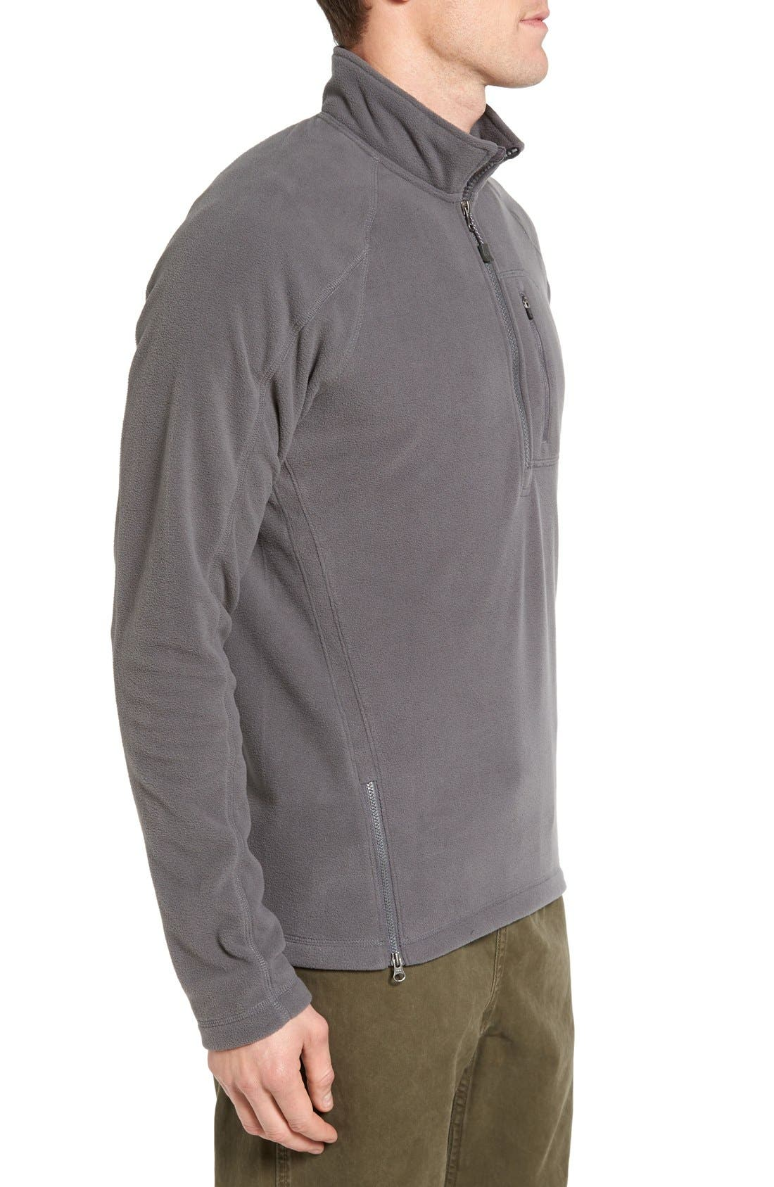 Alternate Image 3  - Gramicci Utility Quarter Zip Fleece Sweater