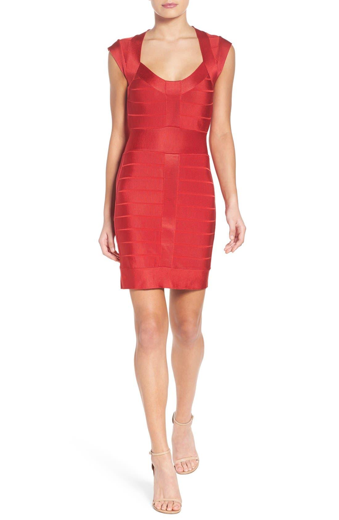 Alternate Image 4  - French Connection Spotlight Bandage Dress