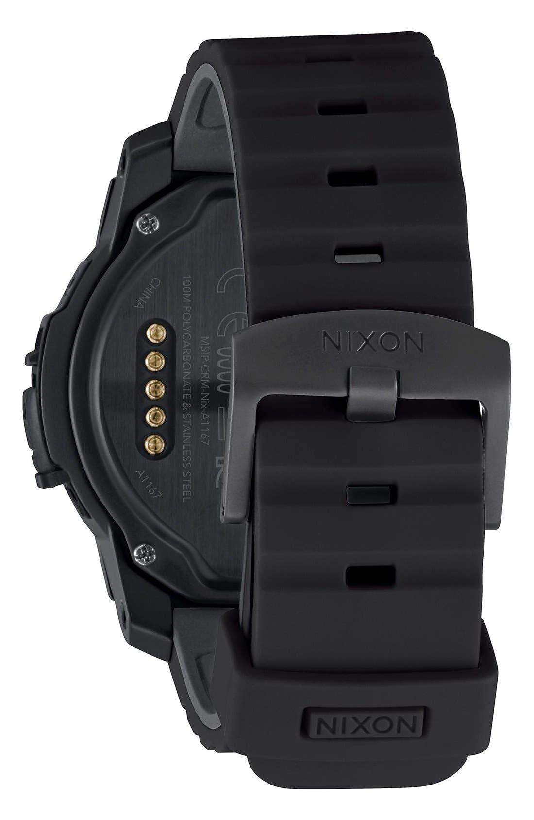 Alternate Image 2  - Nixon Mission Ana-Digi Smart Watch, 48mm