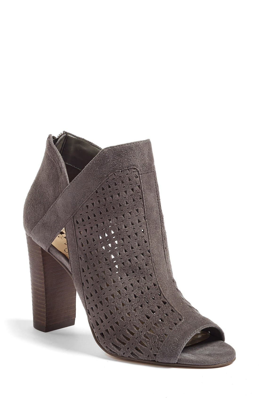 Alternate Image 1 Selected - Vince Camuto Cranita Perforated Bootie (Women)