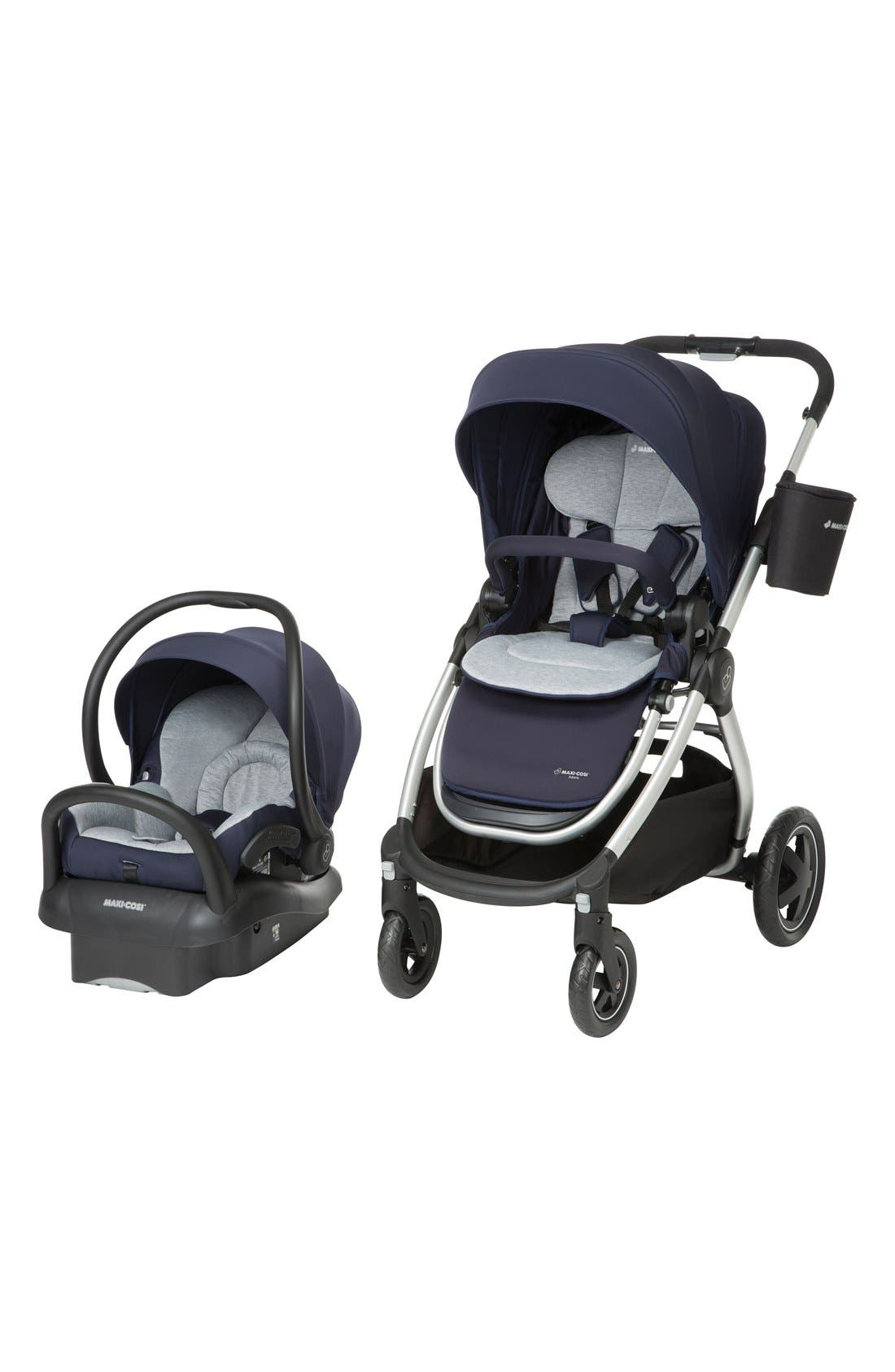 Adorra Travel System,                         Main,                         color, Navy