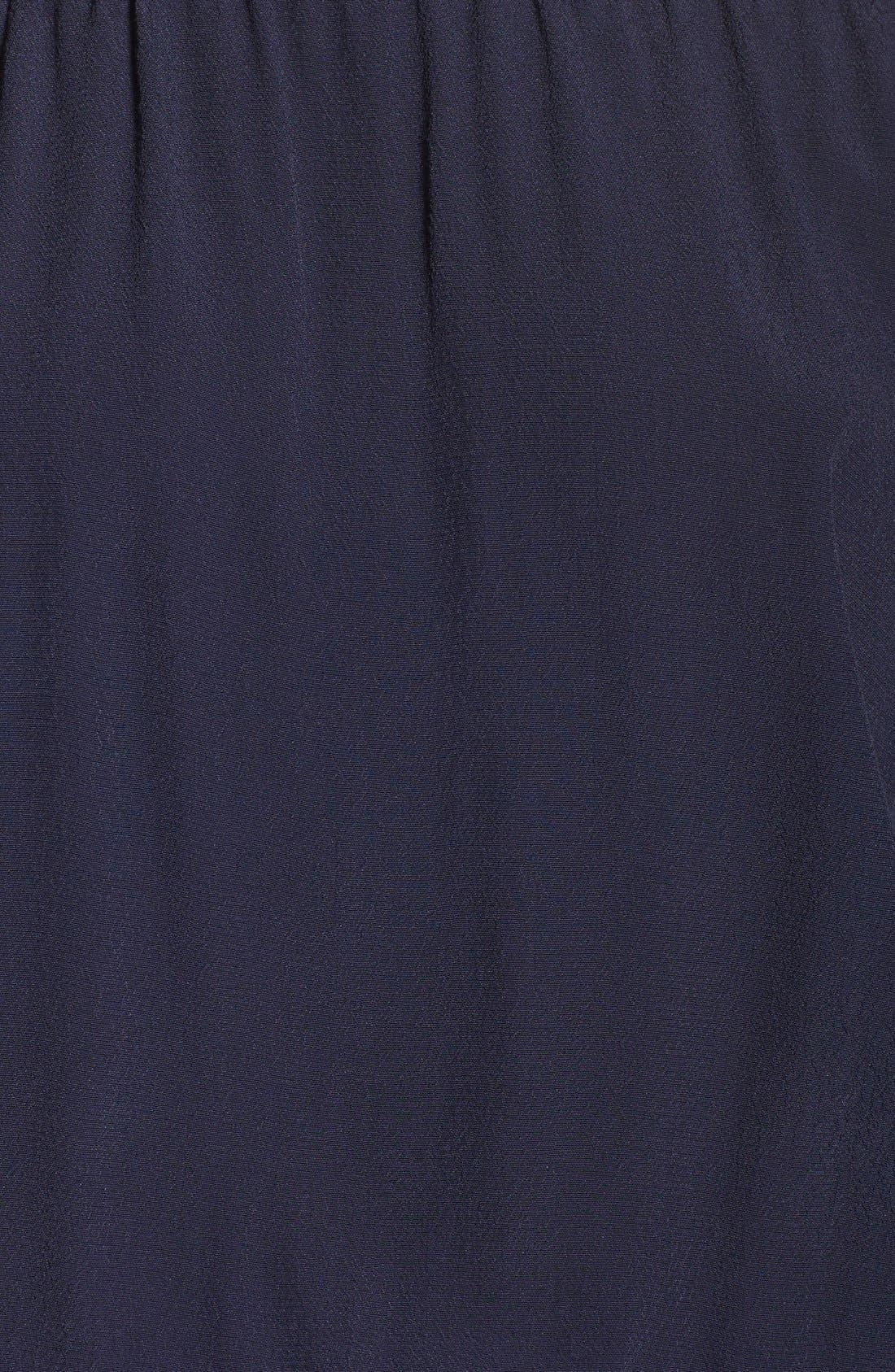 Off the Shoulder Jumpsuit,                             Alternate thumbnail 5, color,                             Navy