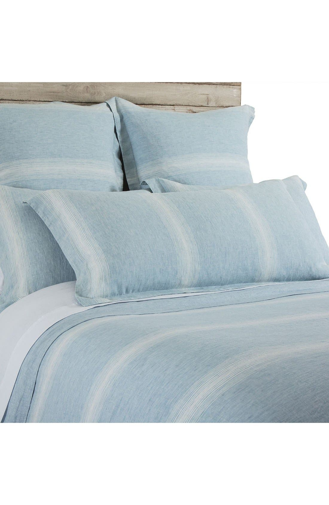 Harper Euro Sham,                         Main,                         color, Blue/ White