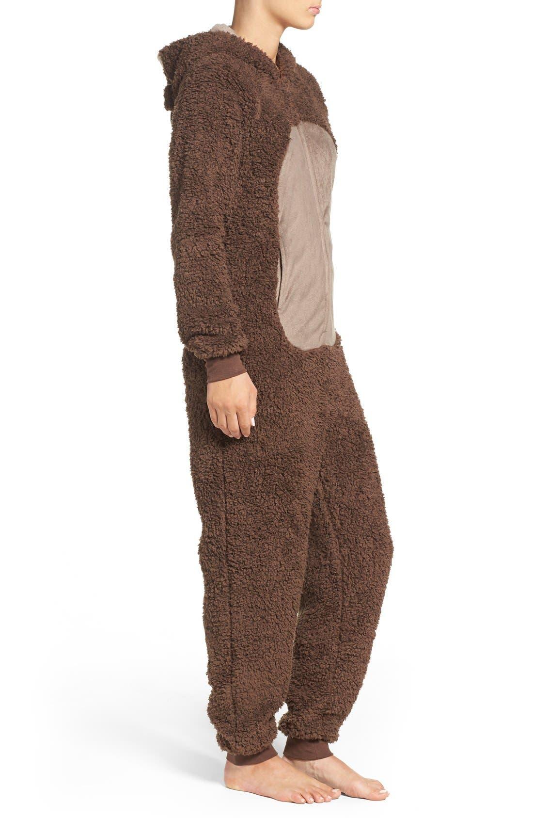 Alternate Image 3  - COZY ZOE Critter One-Piece Pajamas