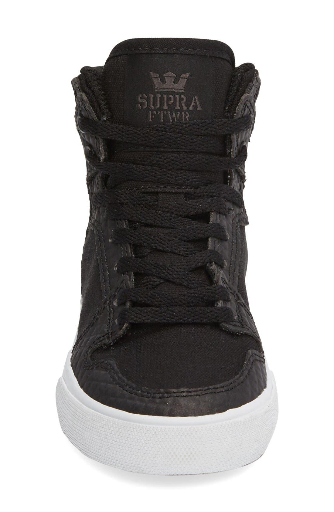 Alternate Image 3  - Supra 'Vaider' High Top Sneaker (Walker, Toddler, Little Kid & Big Kid)