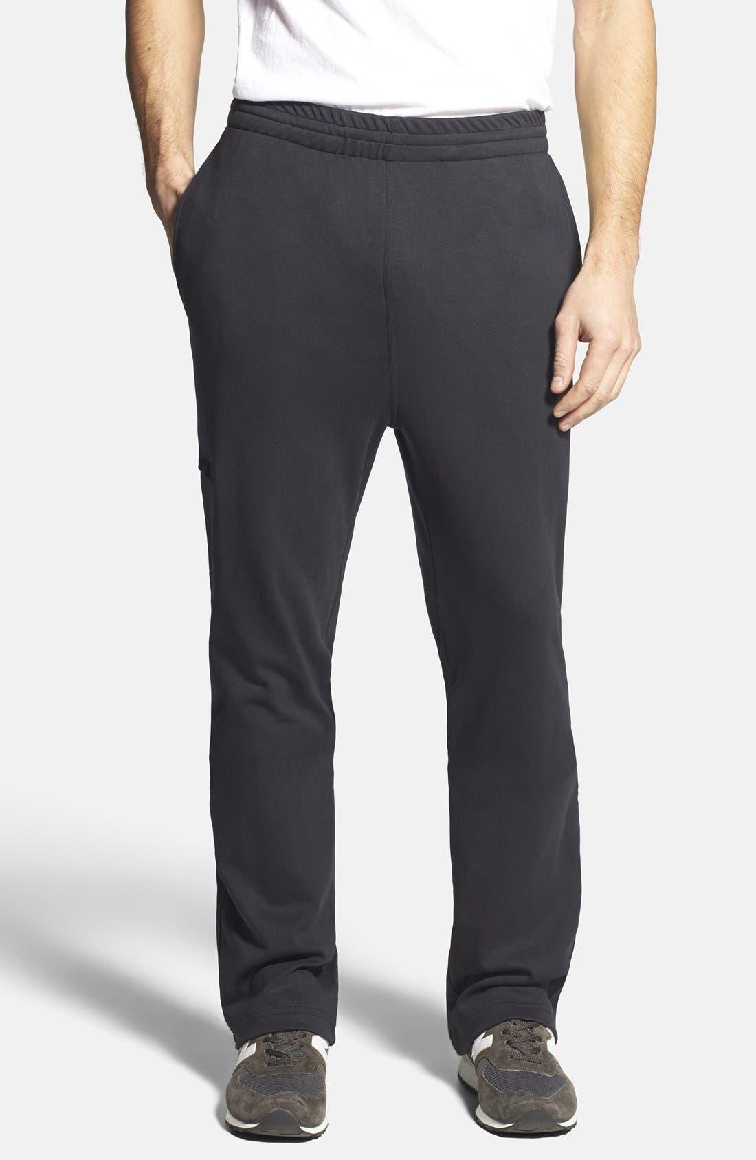 'Leaderboard' Sweatpants,                             Main thumbnail 1, color,                             Black