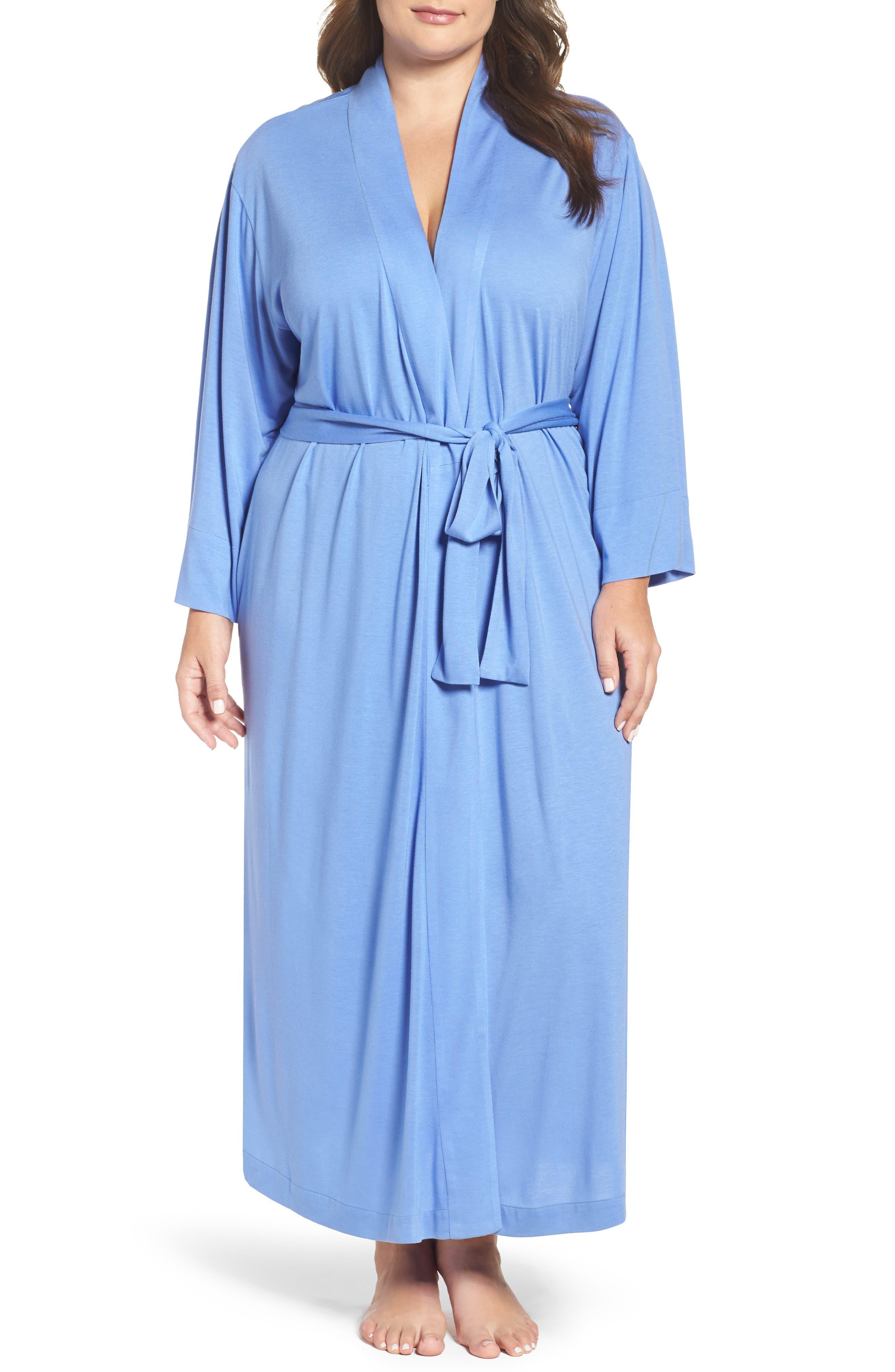 Alternate Image 1 Selected - Natori 'Shangri-La' Robe (Plus Size)