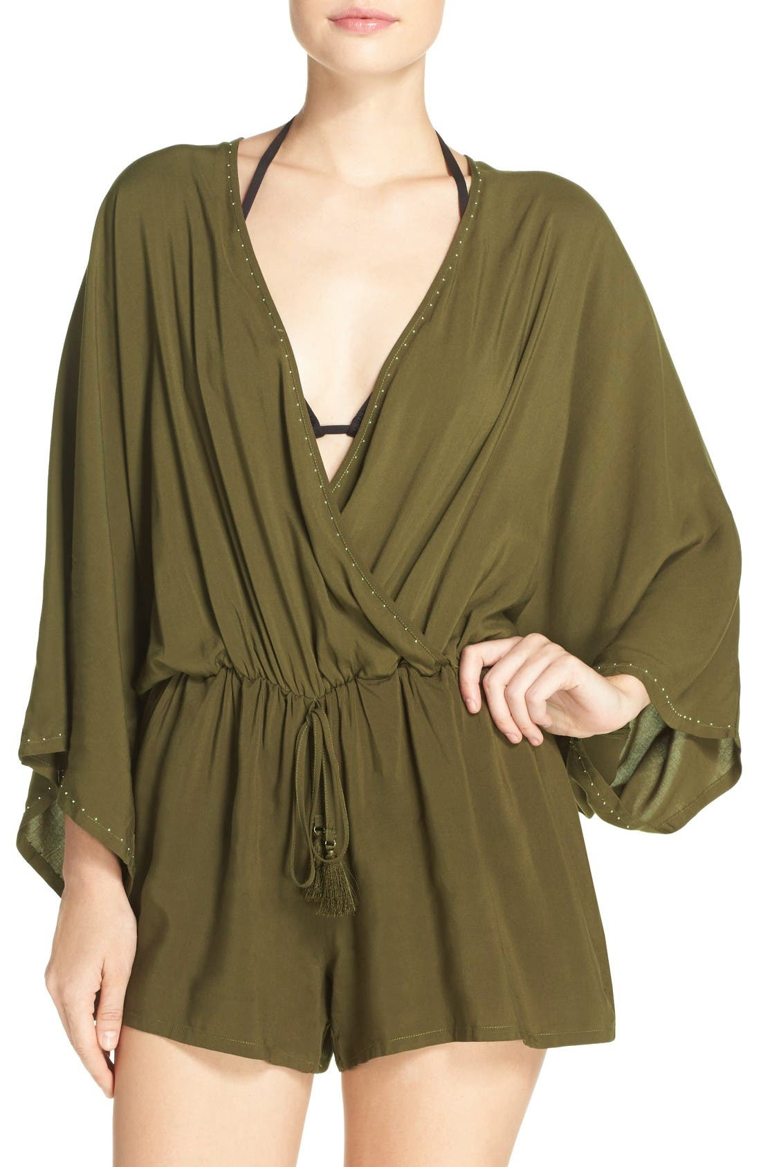 Alternate Image 1 Selected - Vince Camuto Cover-Up Romper
