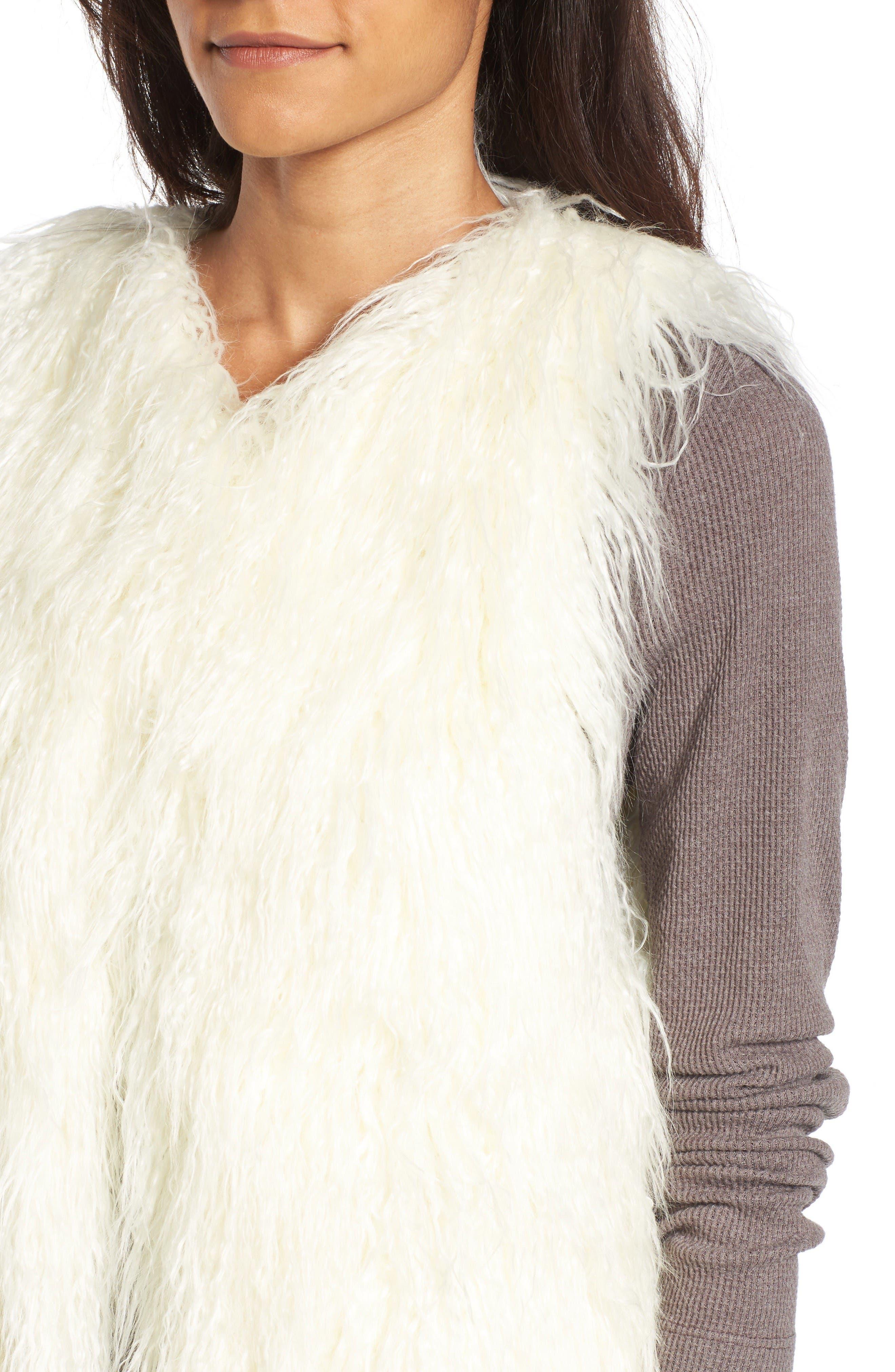Alternate Image 4  - Hinge Faux Fur Vest