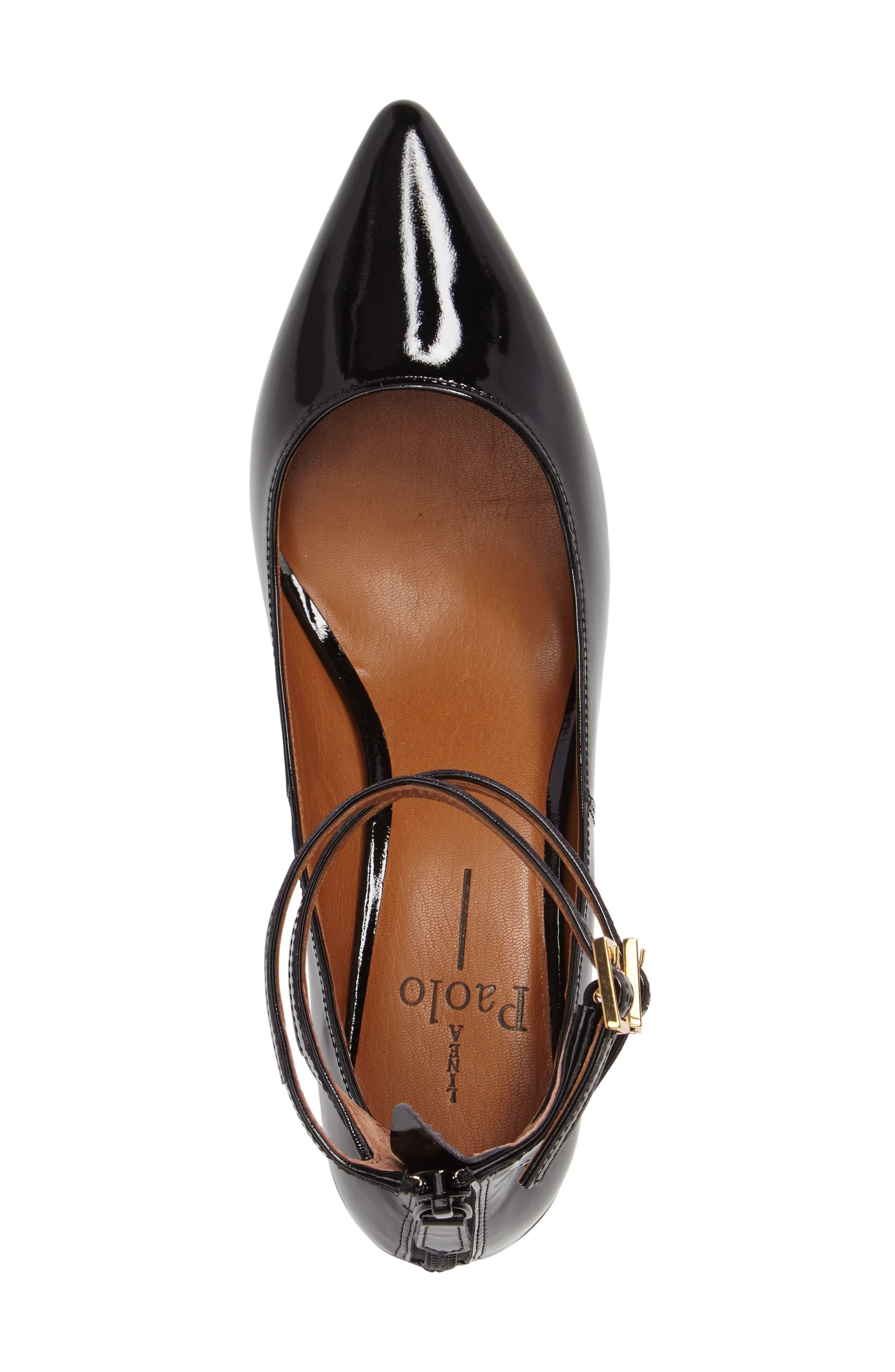 Alternate Image 3  - Linea Paolo 'Noel' Pointy Toe Ankle Strap Pump (Women)