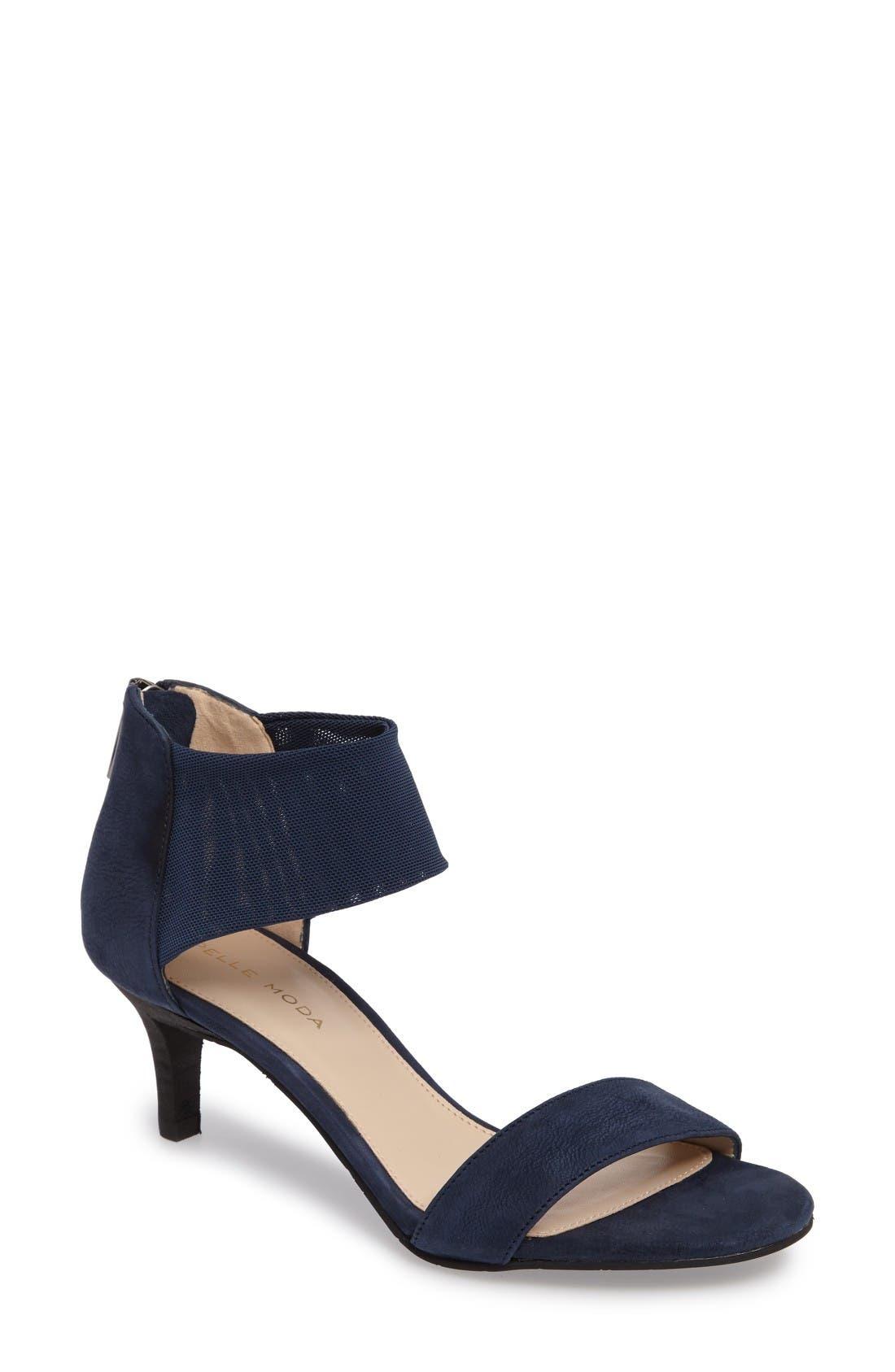 Pelle Moda 'Eden' Mesh Strap Sandal (Women)
