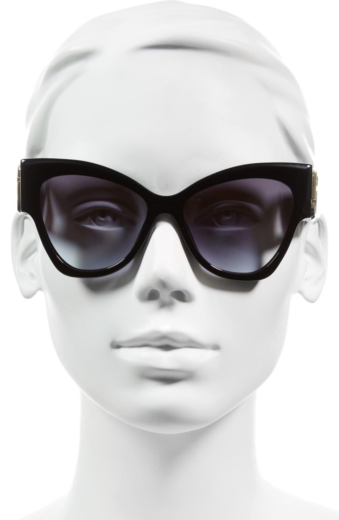 Alternate Image 2  - MARC JACOBS 54mm Oversized Sunglasses