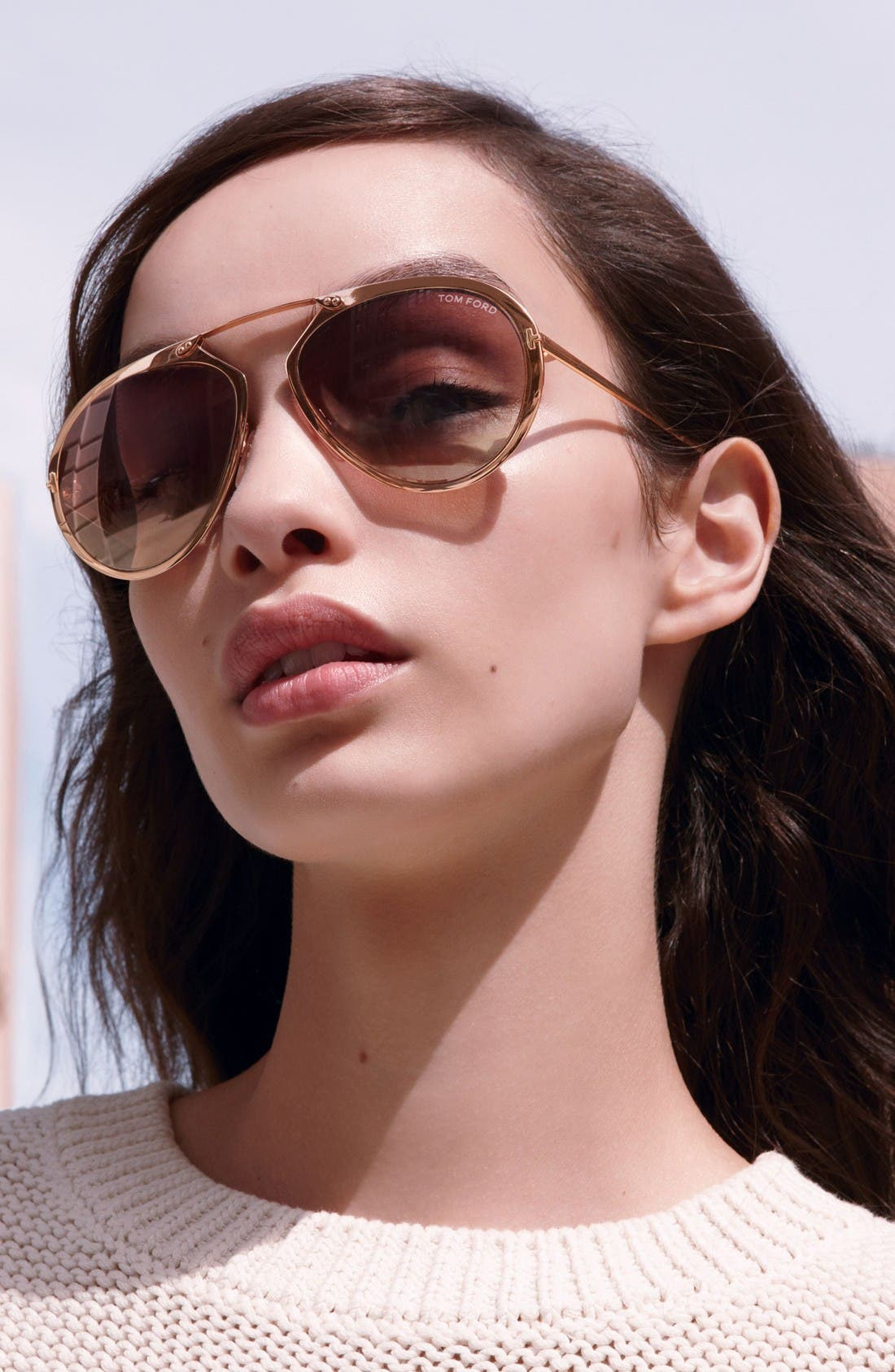 Alternate Image 3  - Tom Ford Dashel 55mm Sunglasses