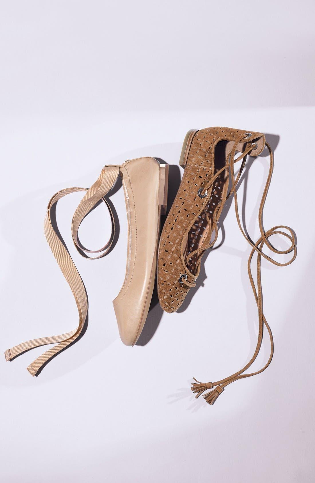 Alternate Image 6  - Sam Edelman Fallon Wraparound Tie Flat (Women)
