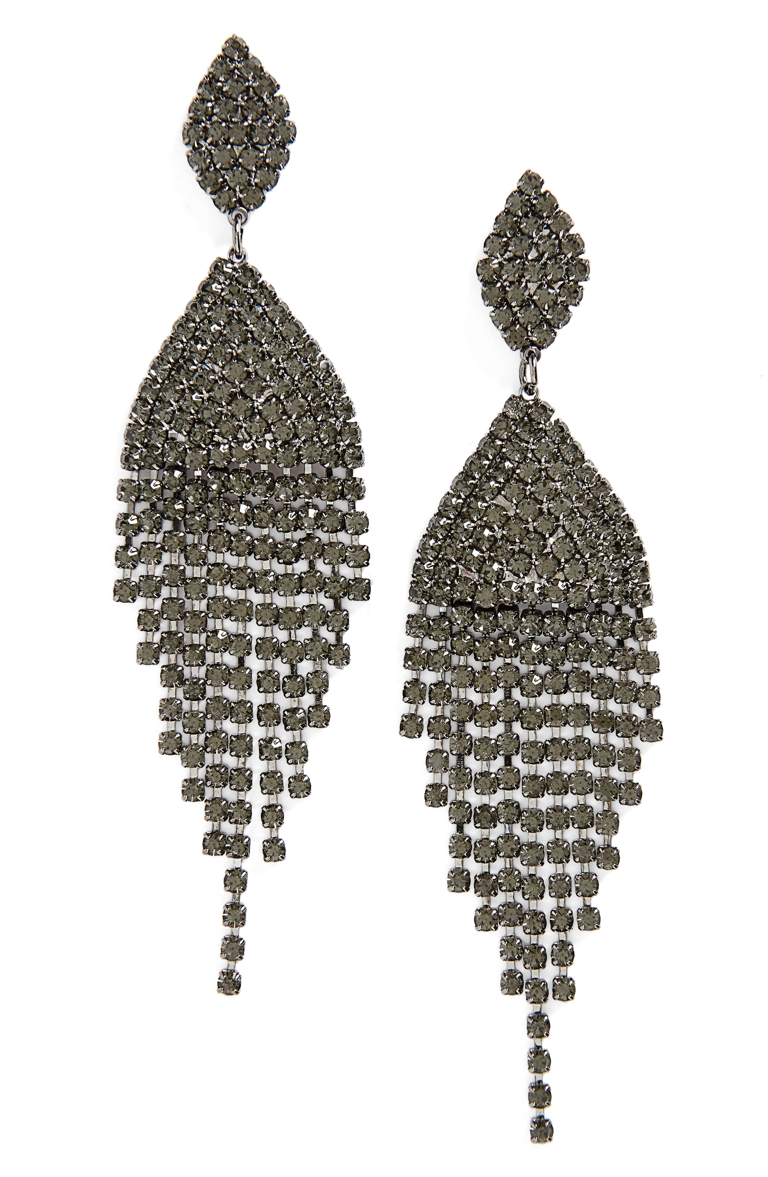 Main Image - Tasha Crystal Drop Earrings