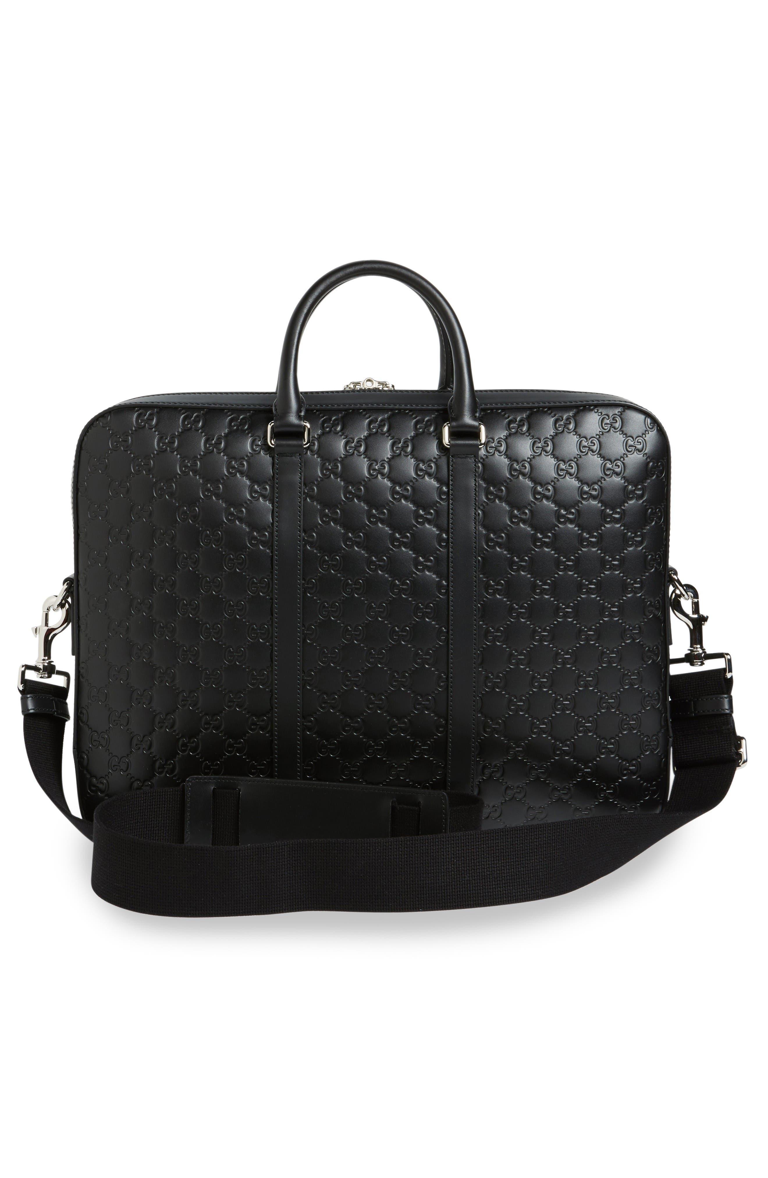 Alternate Image 3  - Gucci Signature Leather Briefcase