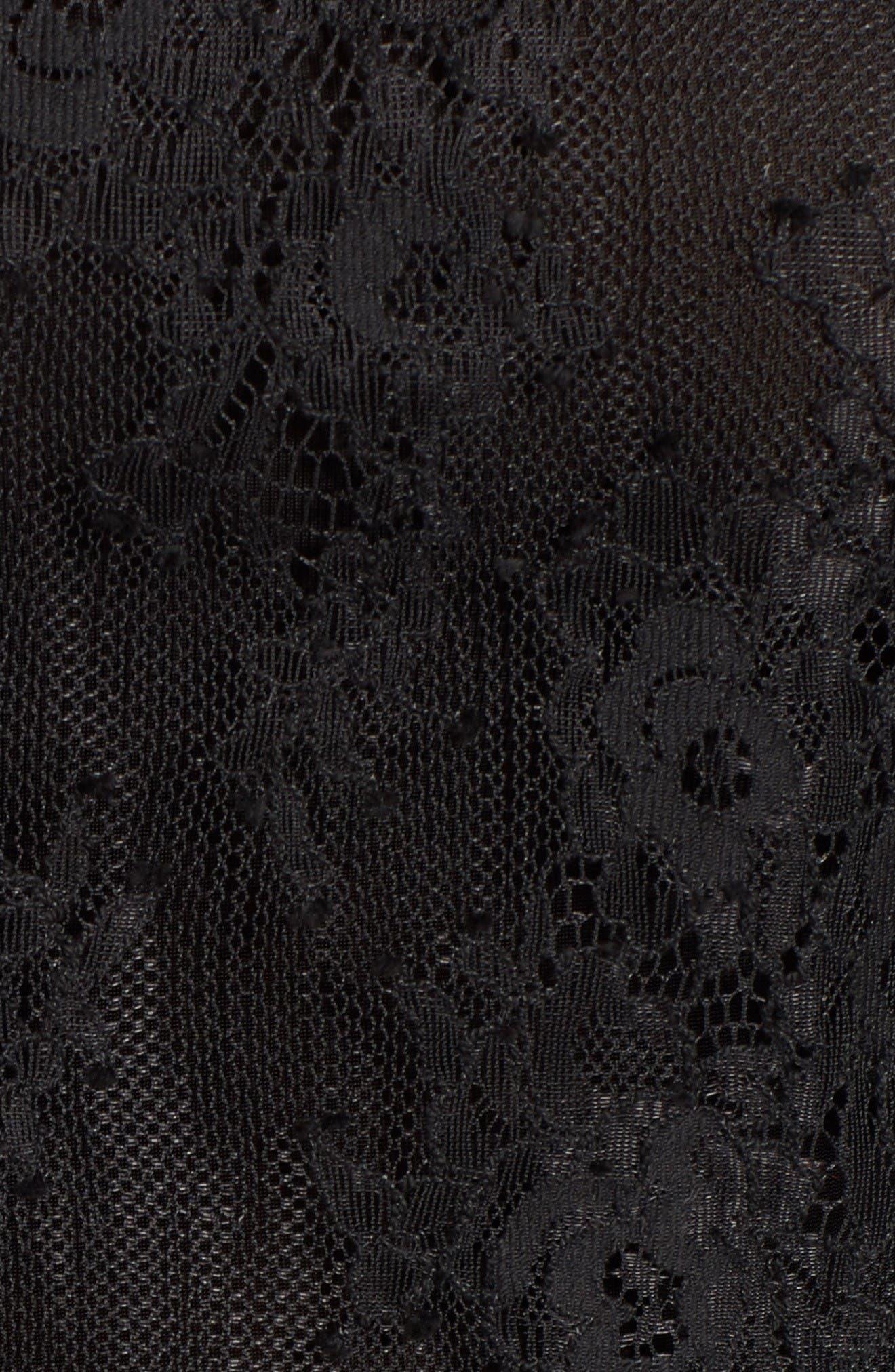Alternate Image 5  - Chelsea28 Sheer Lace Top