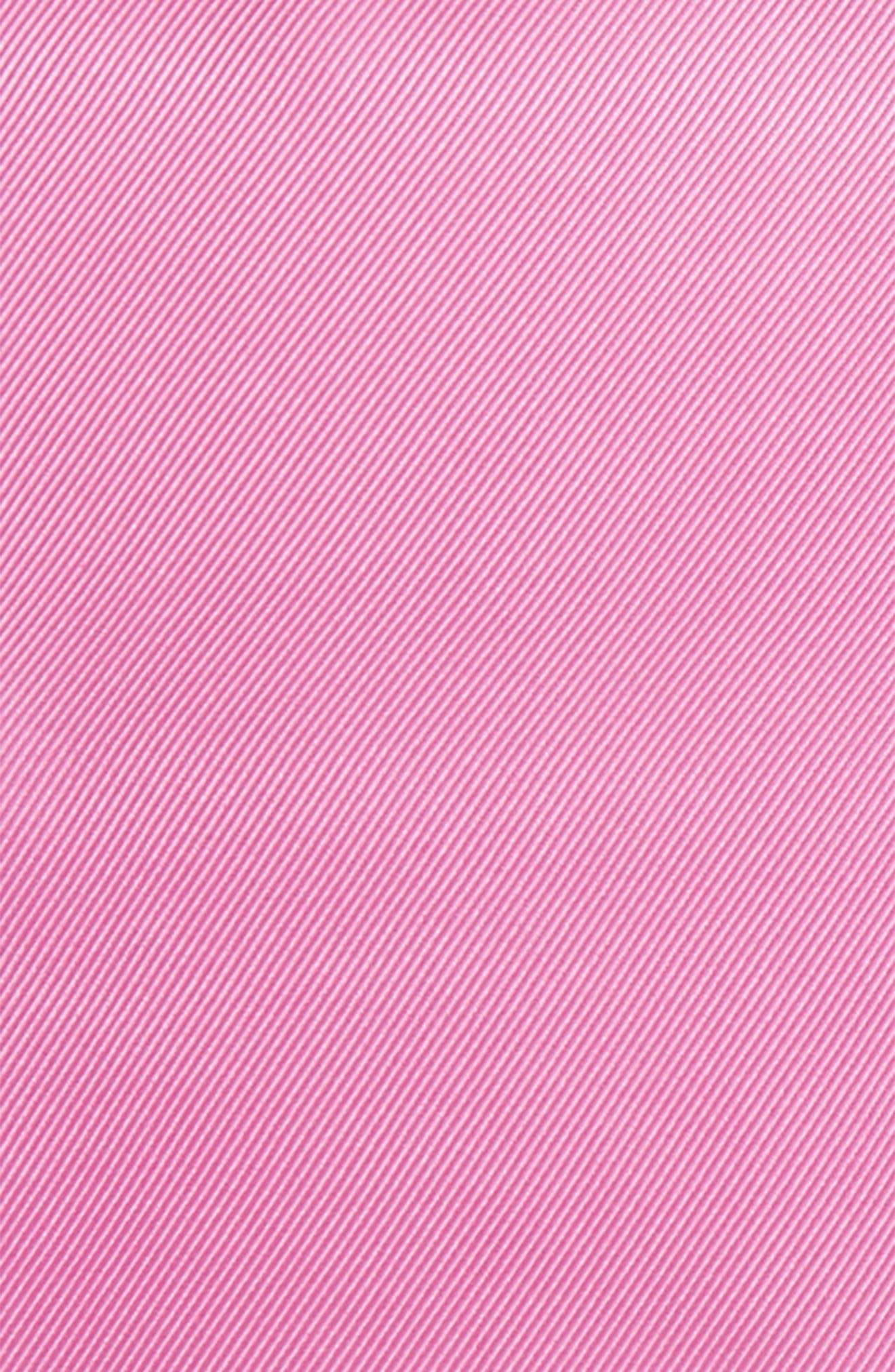Alternate Image 3  - Nordstrom Men's Shop Solid Silk Pocket Square
