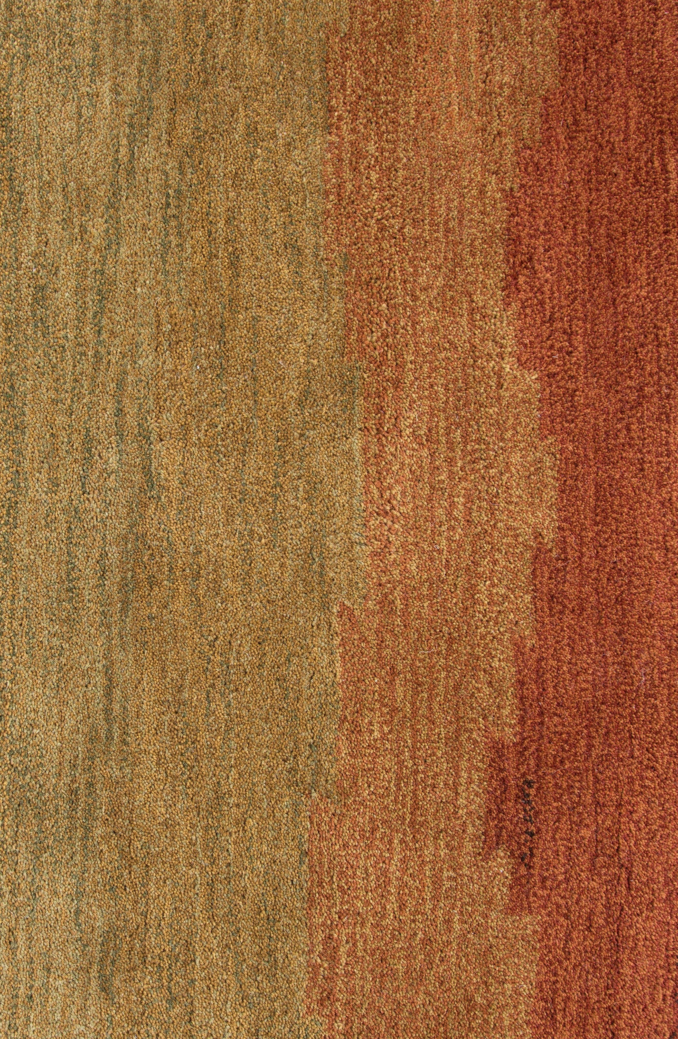 Desert Oasis Hand Tufted Wool Area Rug,                             Alternate thumbnail 5, color,                             Rust