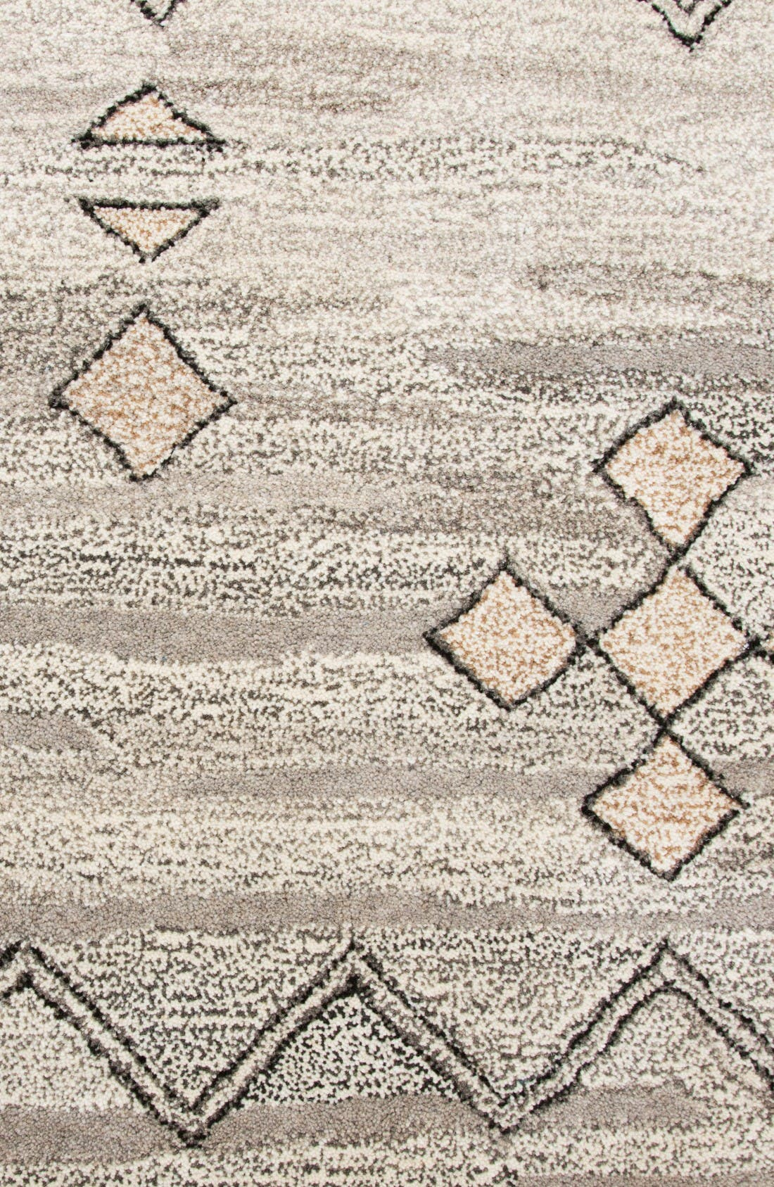 Desert Plains Hand Tufted Wool Area Rug,                             Alternate thumbnail 4, color,                             Grey