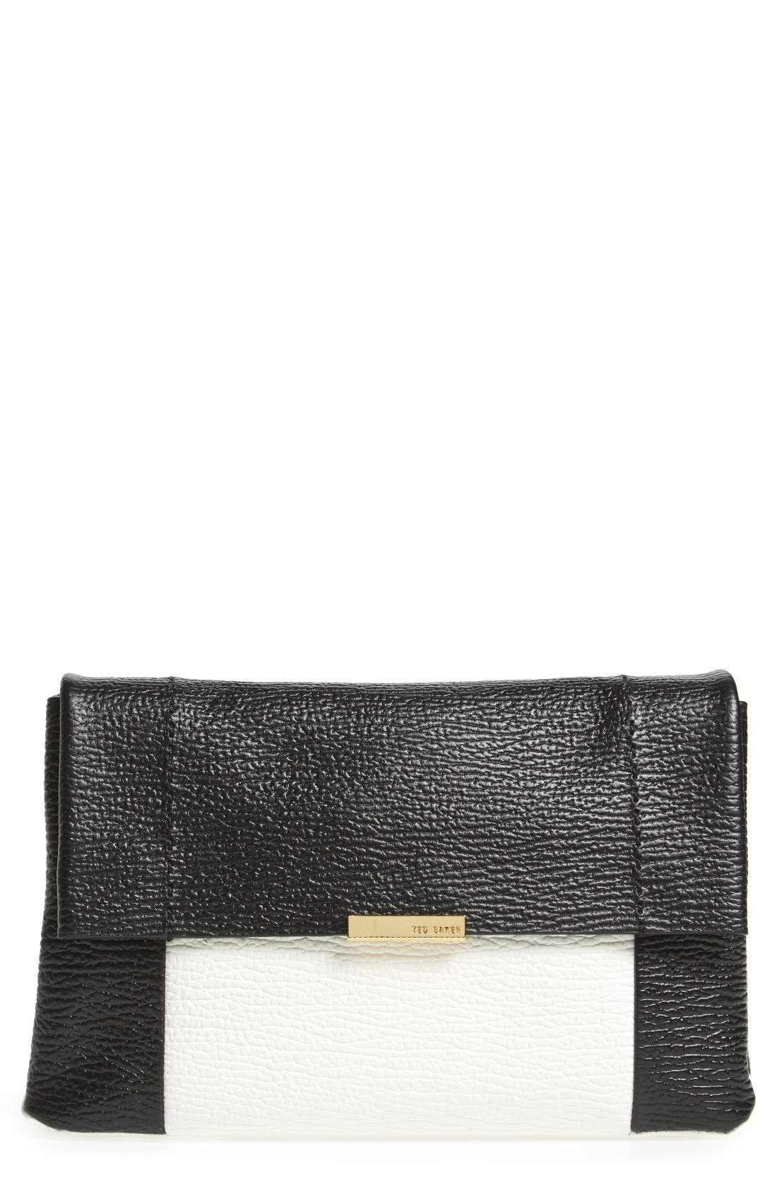 Alternate Image 1 Selected - Ted Baker London Parson Leather Crossbody Bag