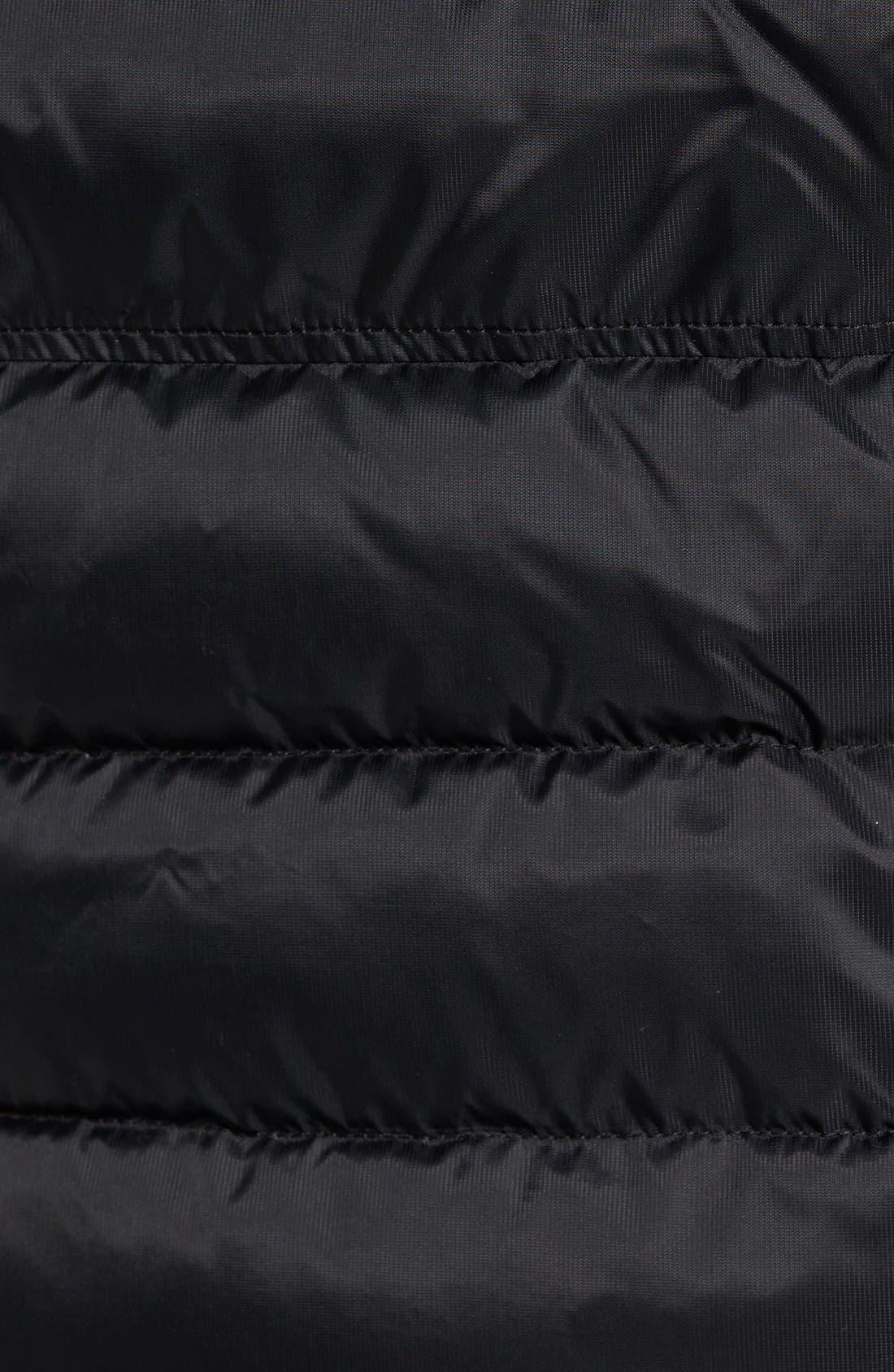 HyBridge Perren Packable Down Jacket,                             Alternate thumbnail 5, color,                             Black