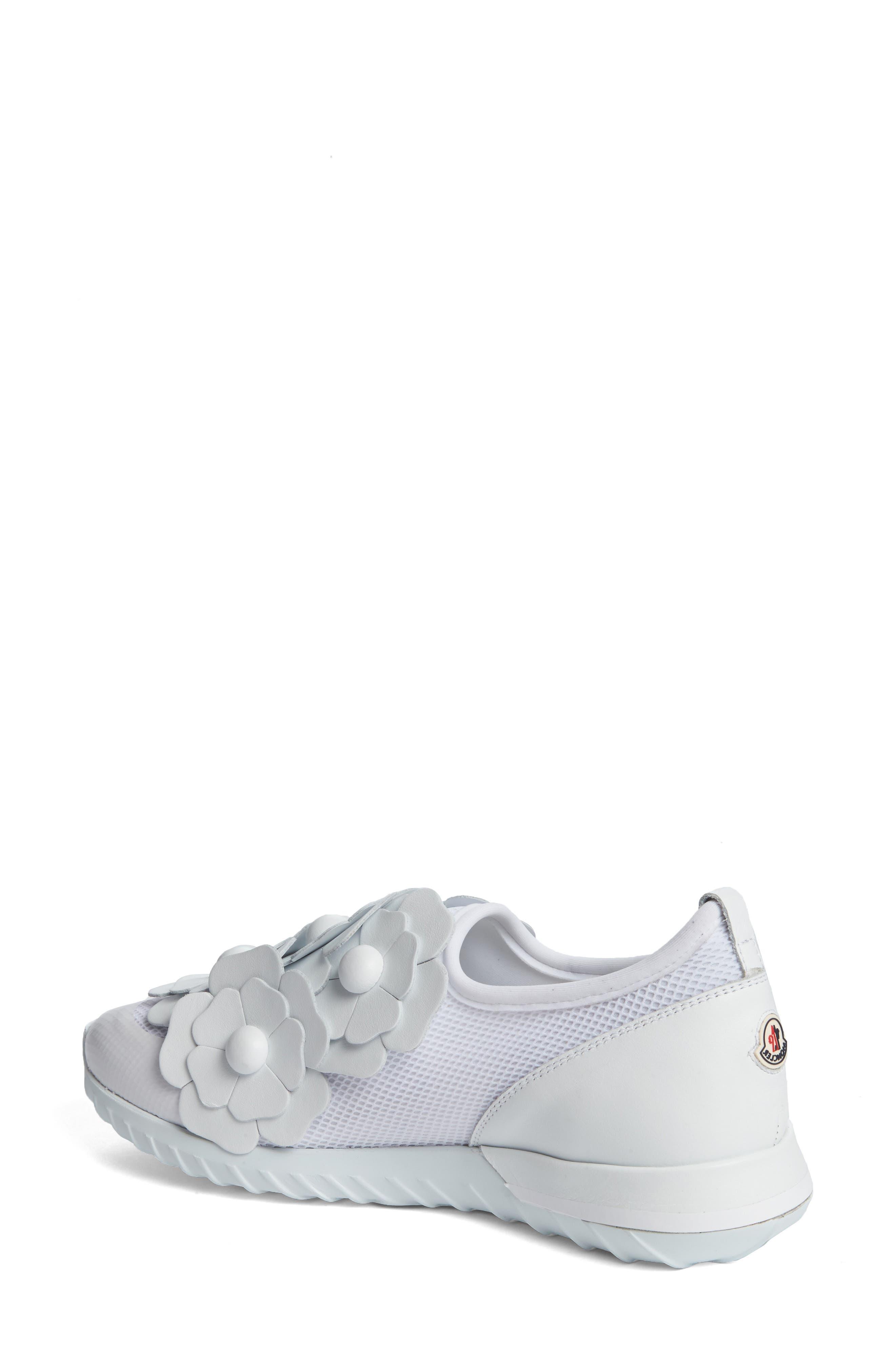 Emy Roseline Slip-On Sneaker,                             Alternate thumbnail 2, color,                             White Leather