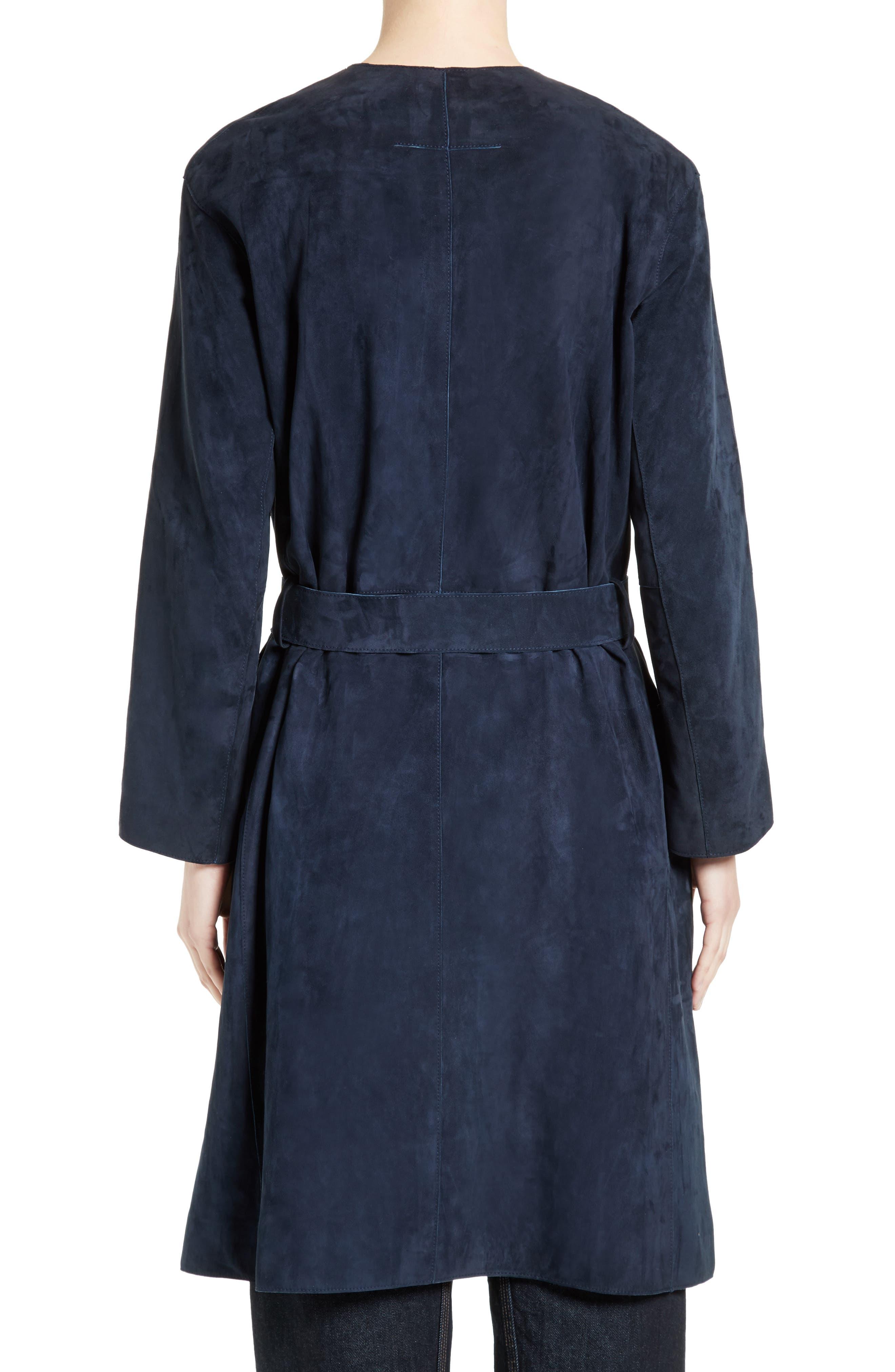 Alternate Image 2  - Vince Suede Robe Coat