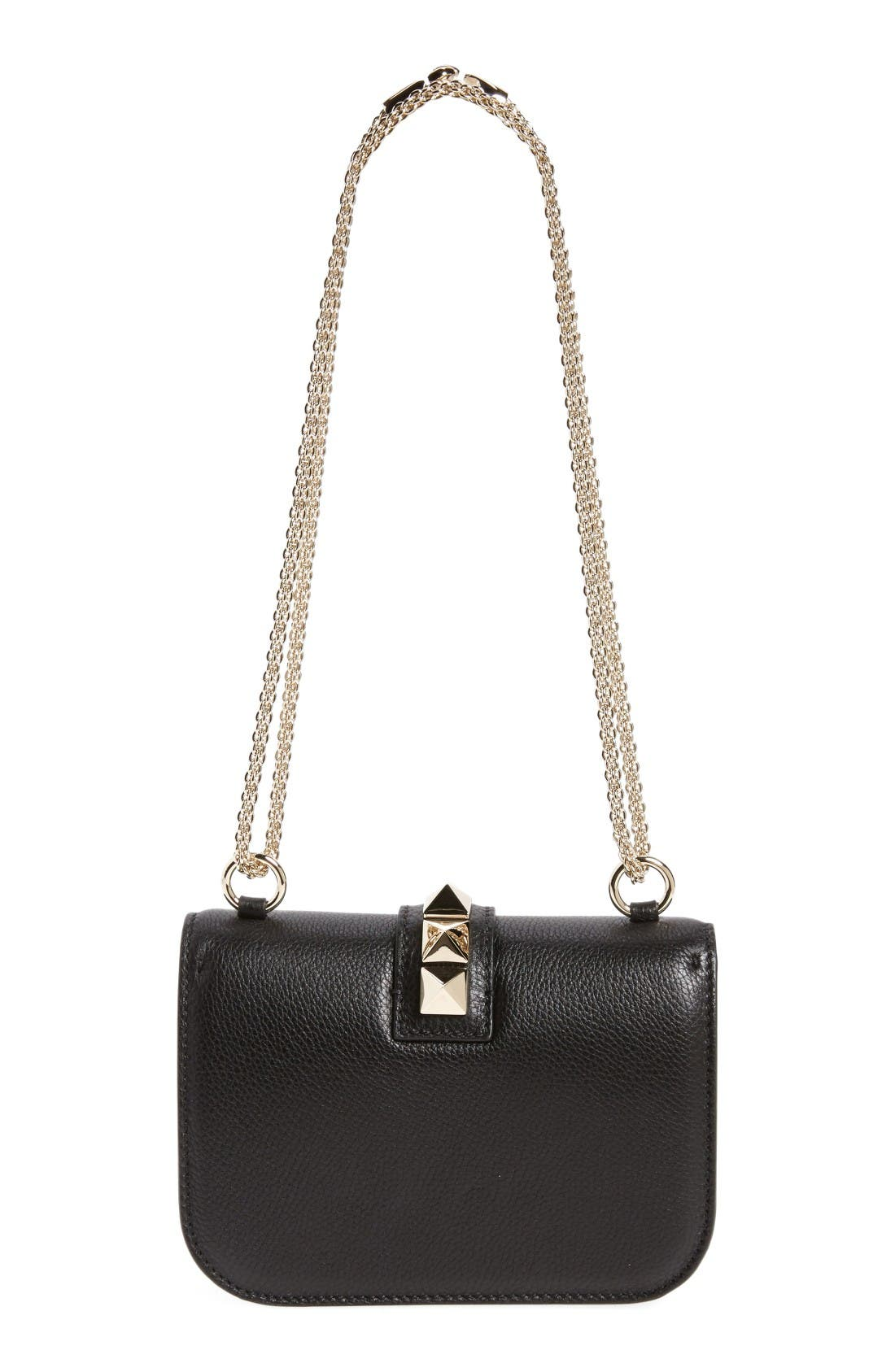 Alternate Image 3  - VALENTINO GARAVANI Rockstud - Small Lock Leather Crossbody Bag