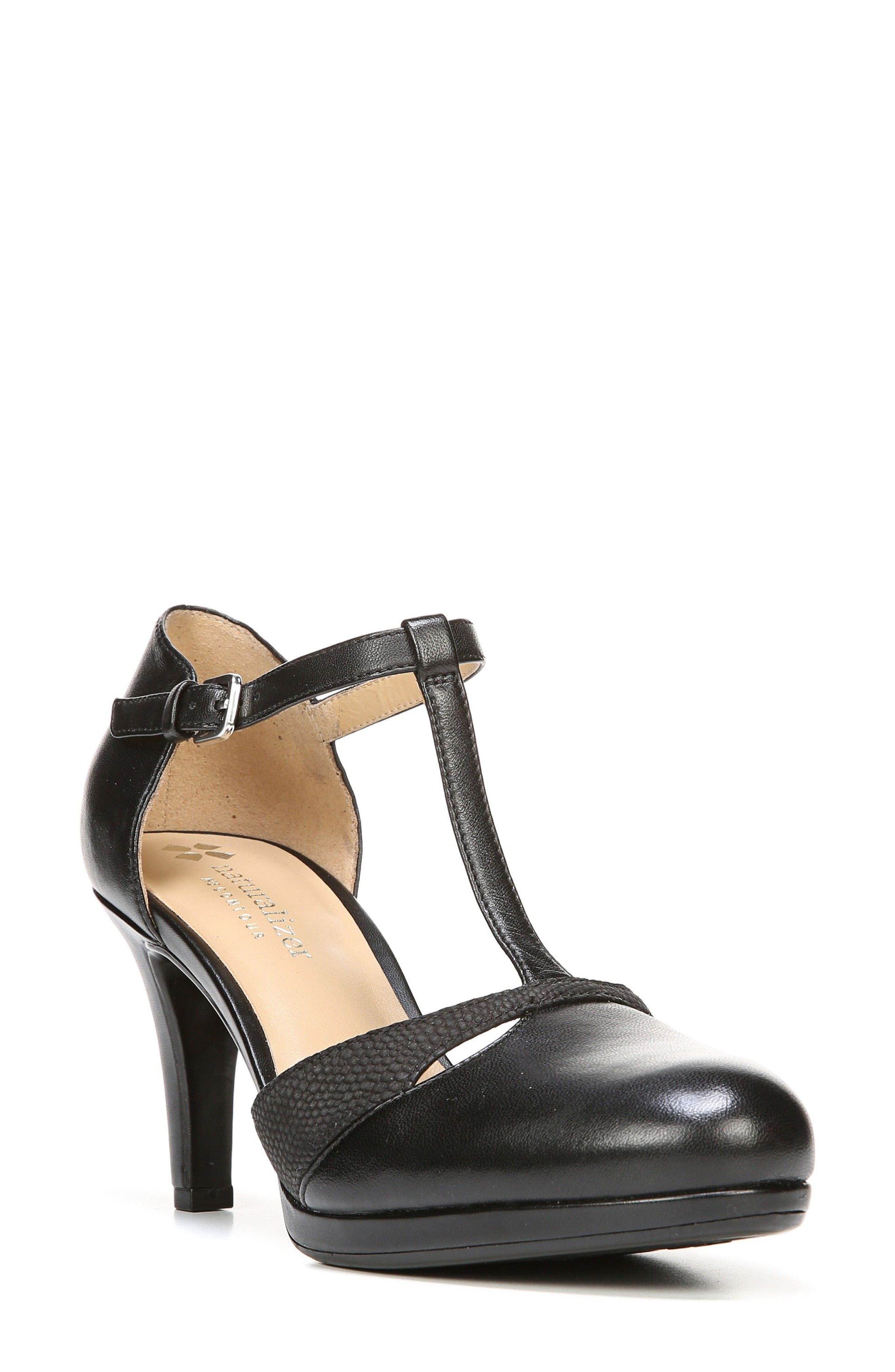 Naturalizer Megan T-Strap Pump (Women)