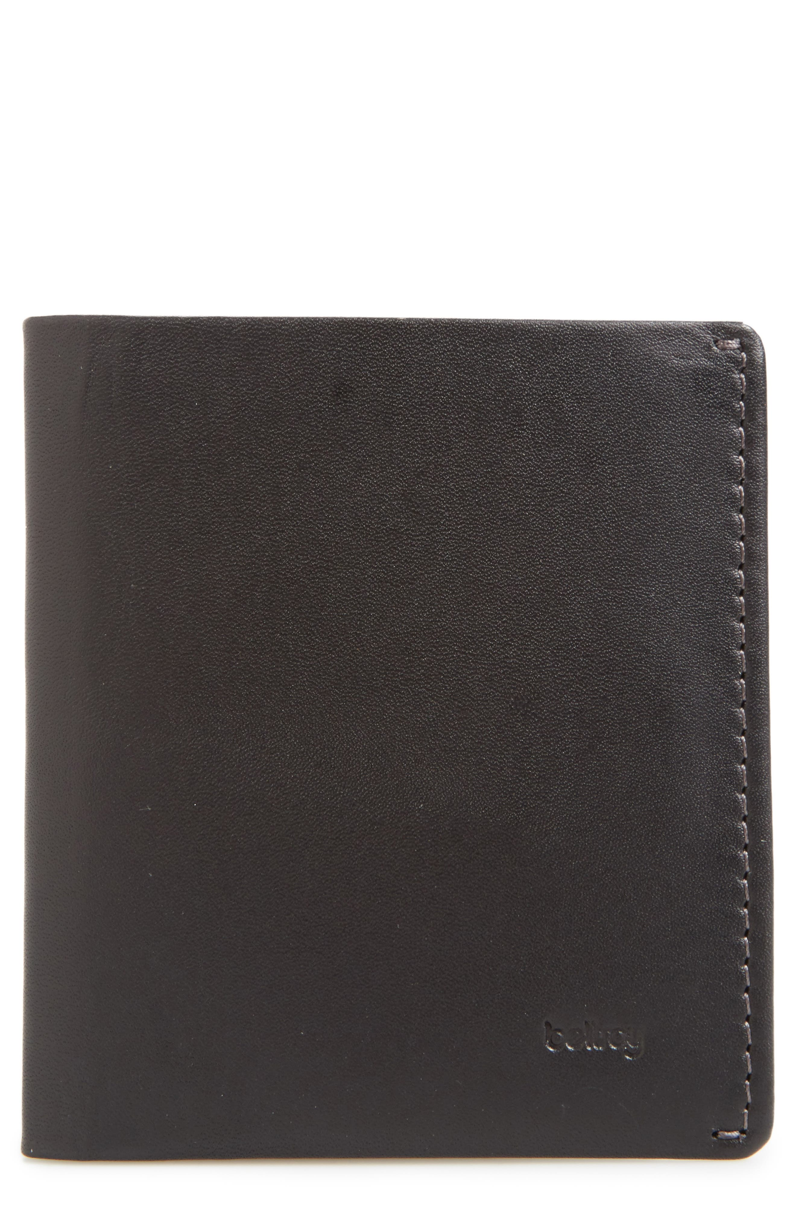 Note Sleeve Wallet,                         Main,                         color, Black