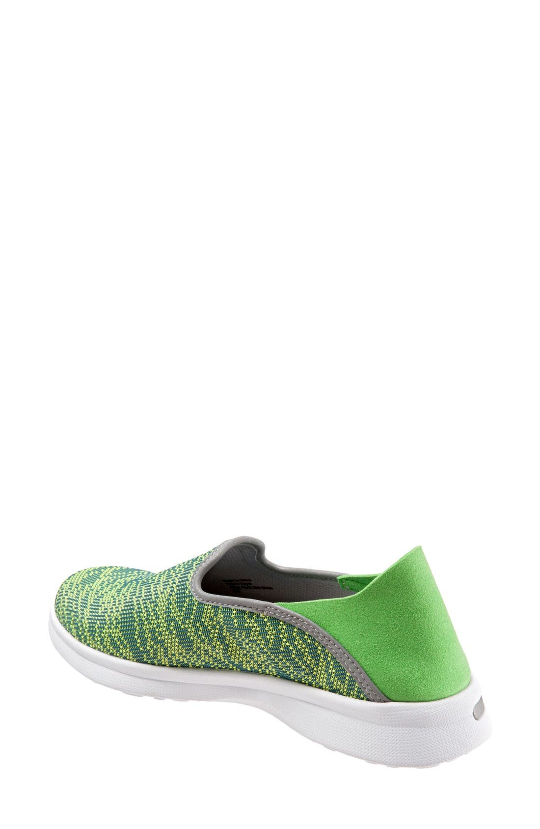 Convertible Slip-On Sneaker,                             Alternate thumbnail 2, color,                             Green Fabric