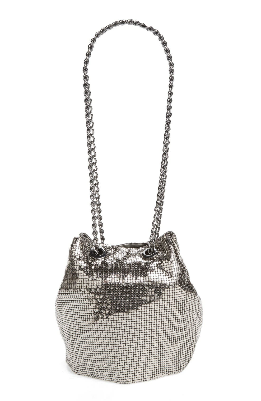 Alternate Image 2  - Whiting & Davis Mesh Bucket Bag