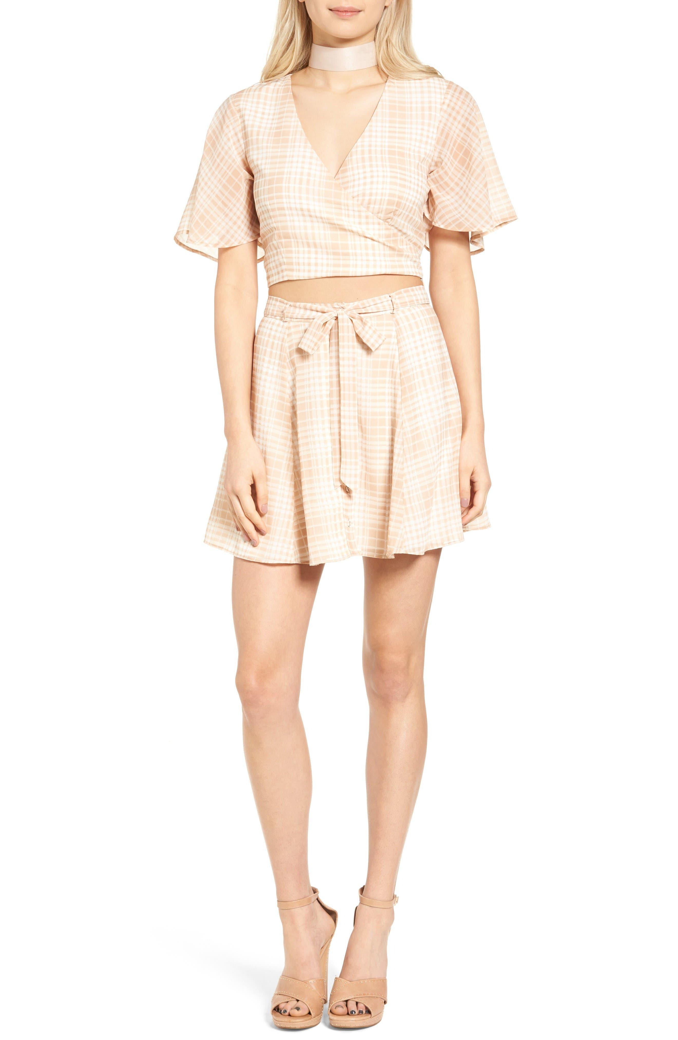 Dresden Skirt,                             Alternate thumbnail 7, color,                             Tan