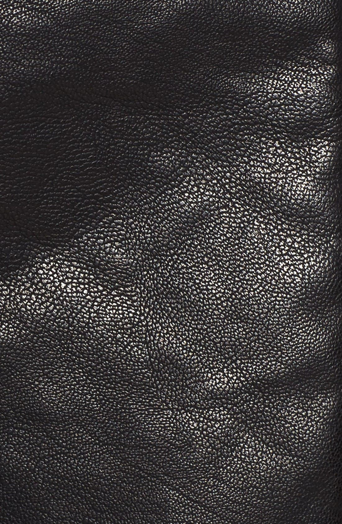 Alternate Image 8  - Topshop Vardy Faux Leather Biker Jacket