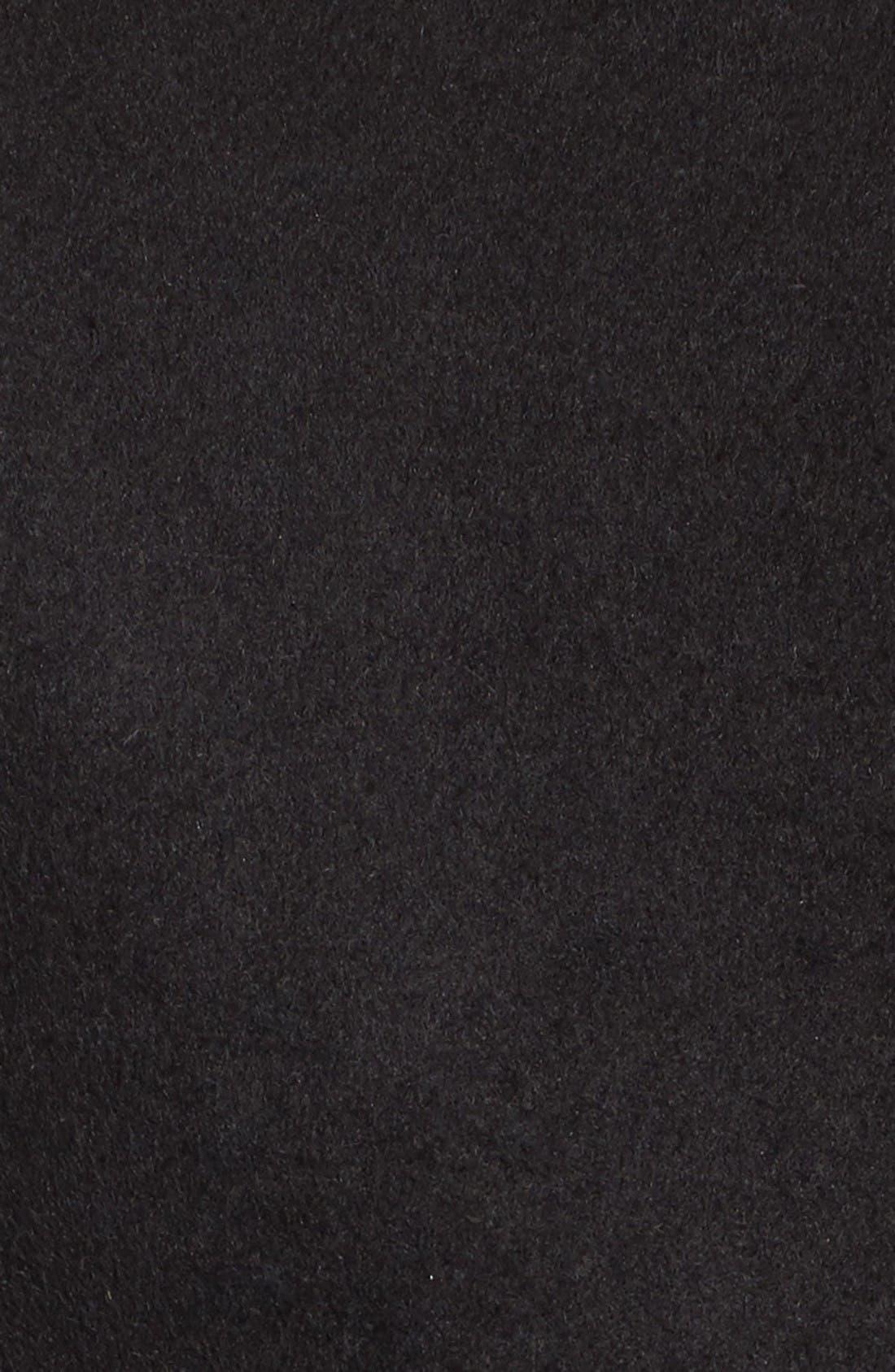 Alternate Image 5  - Vigoss Wool & Faux Leather Baseball Jacket