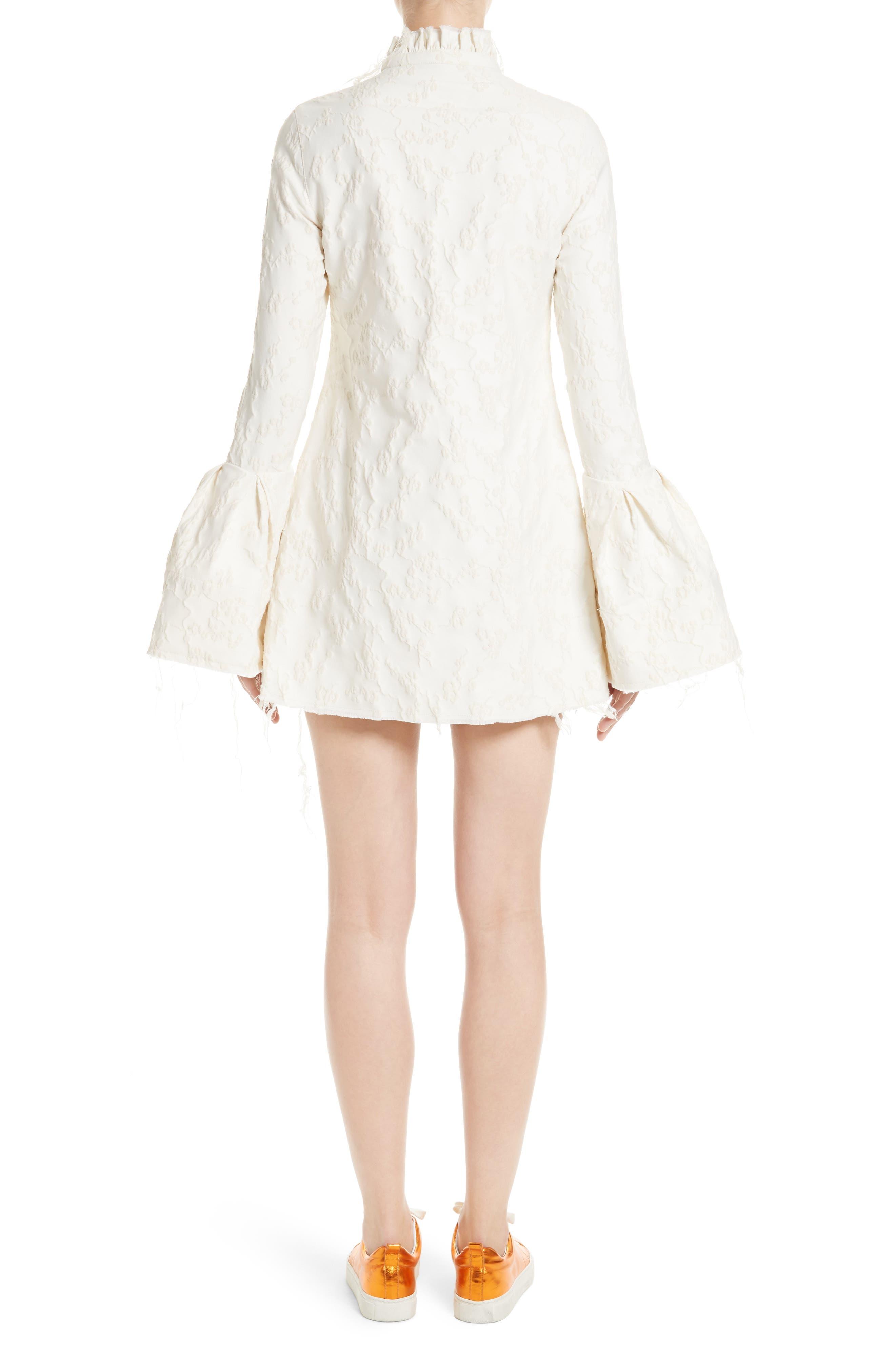 Alternate Image 2  - Marques'Almeida Bell Sleeve Minidress