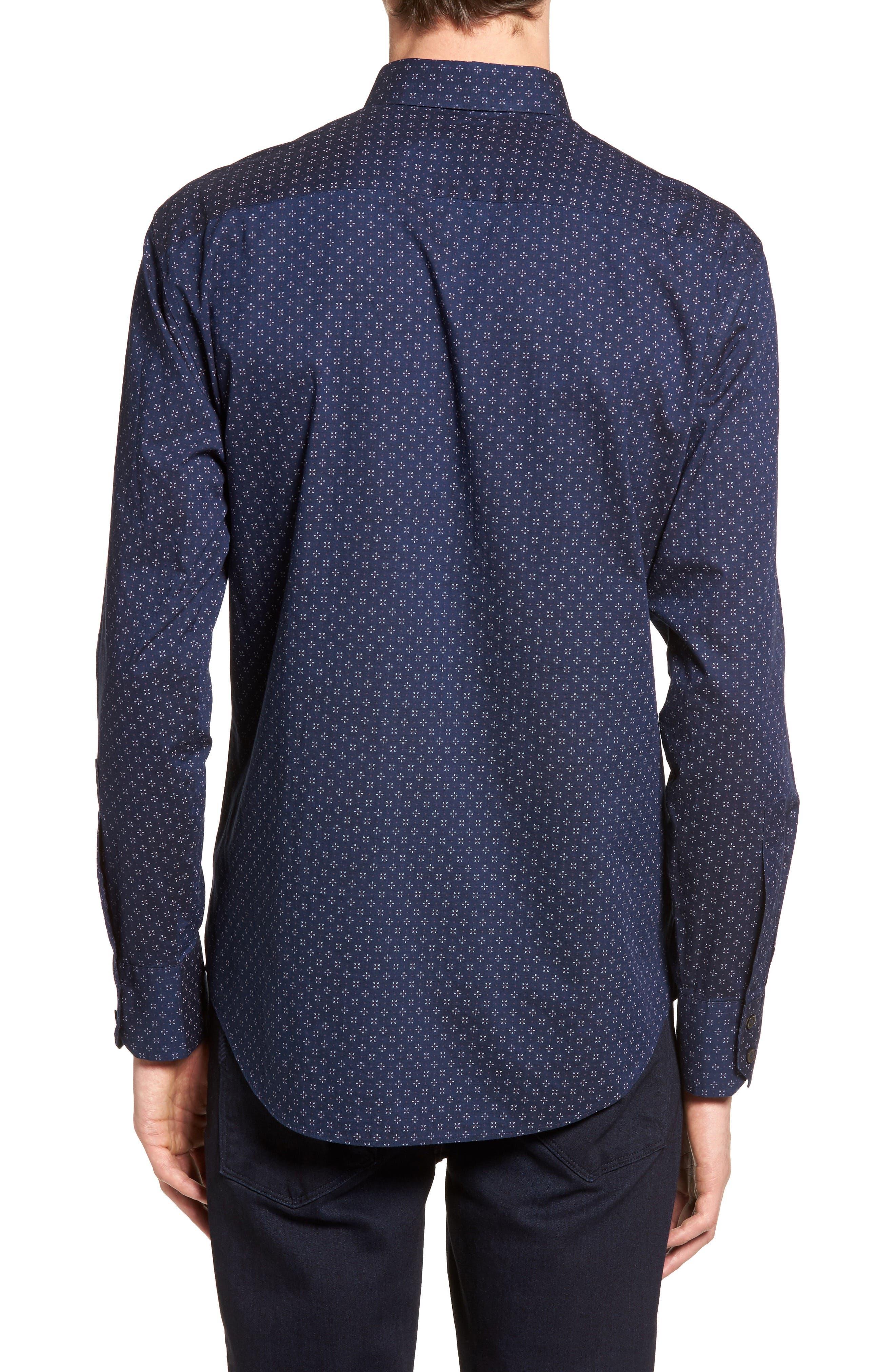 Alternate Image 2  - Zachary Prell Kinnear Slim Fit Print Shirt