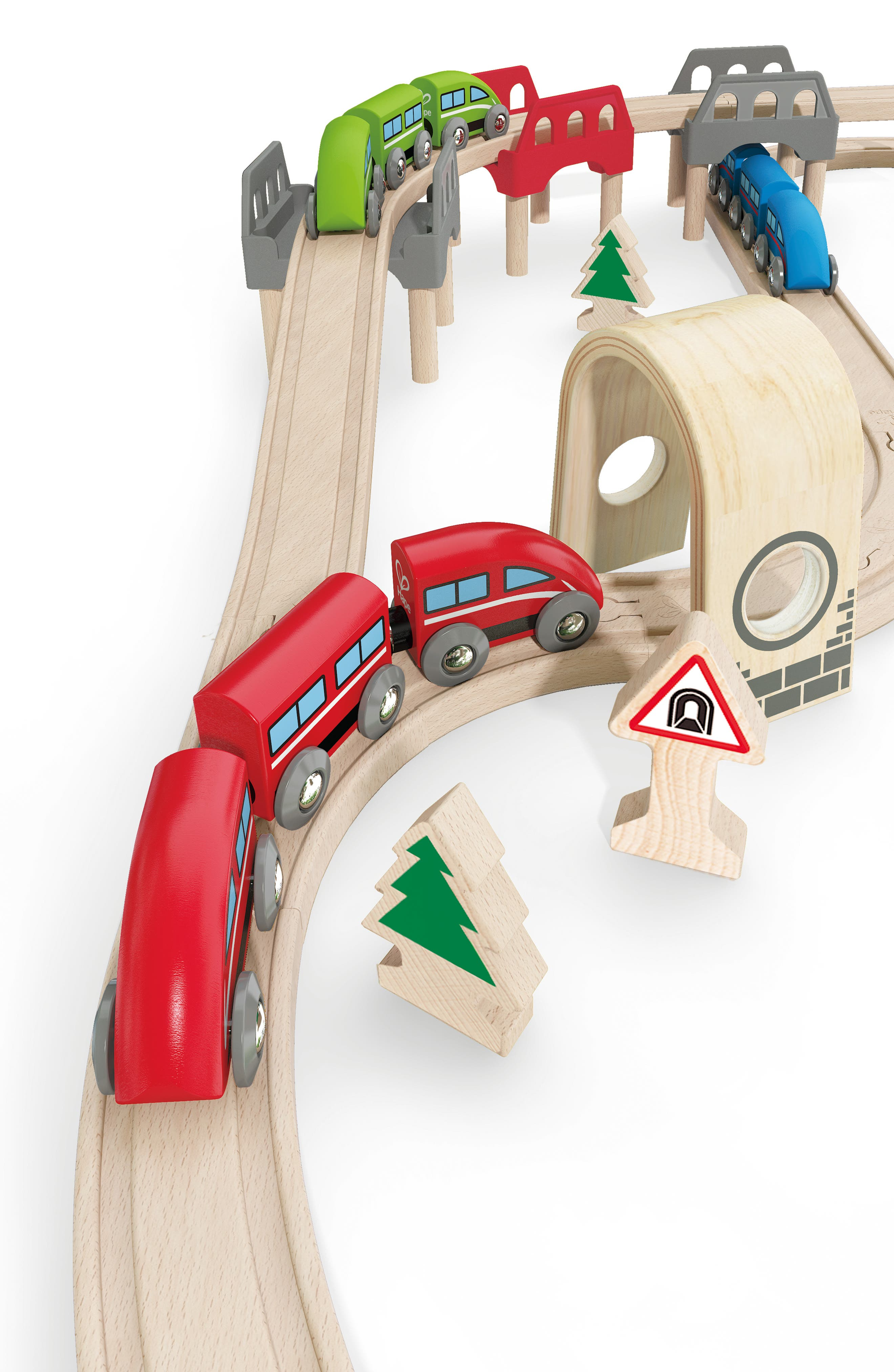 High & Low Railway Set,                             Alternate thumbnail 2, color,                             Multi