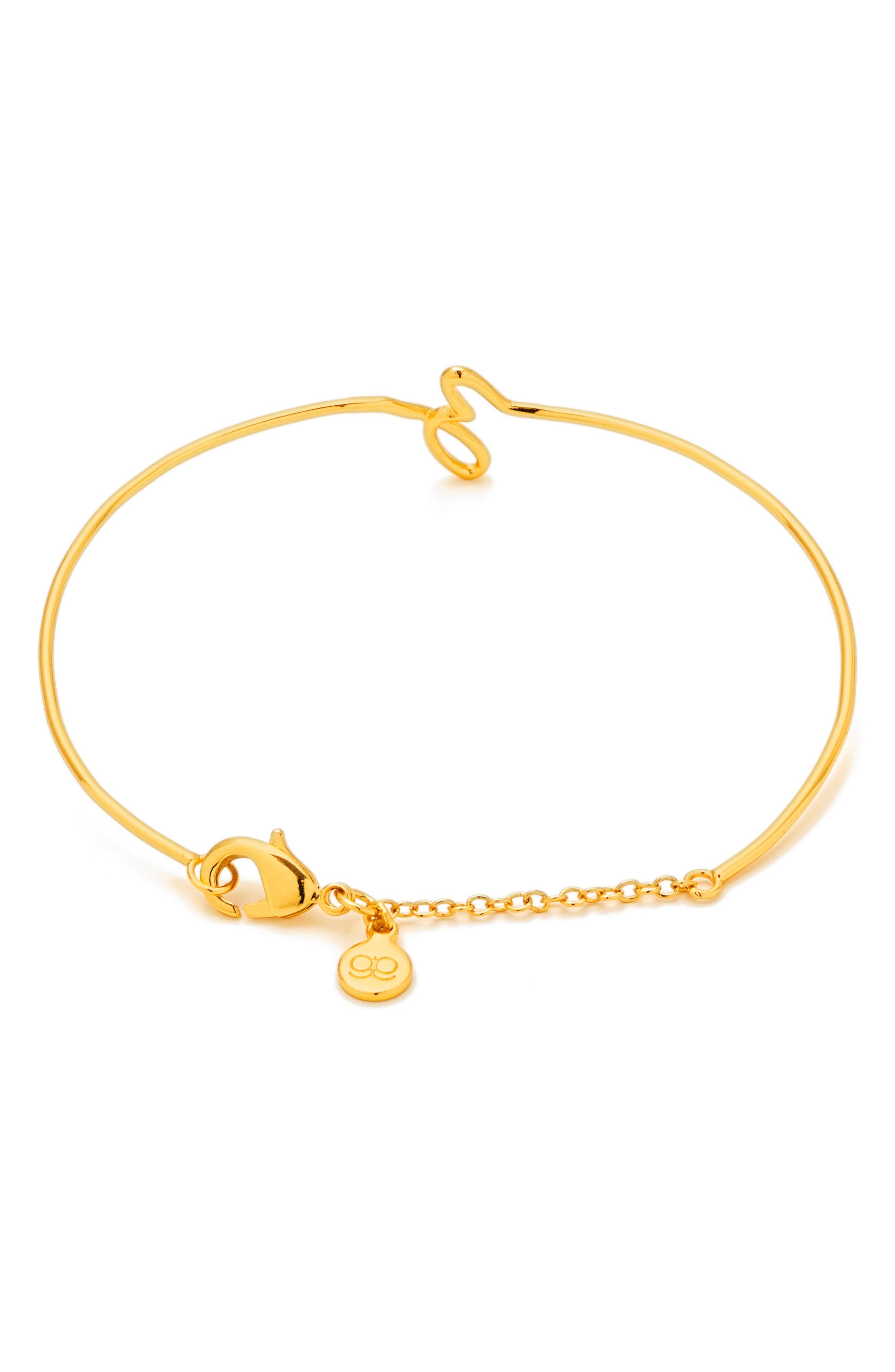Alternate Image 2  - gorjana Alphabet Bracelet
