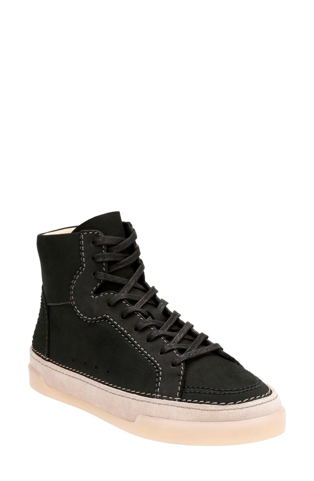 Alternate Image 1 Selected - Clarks® Hidi Haze High Top Sneaker (Women)