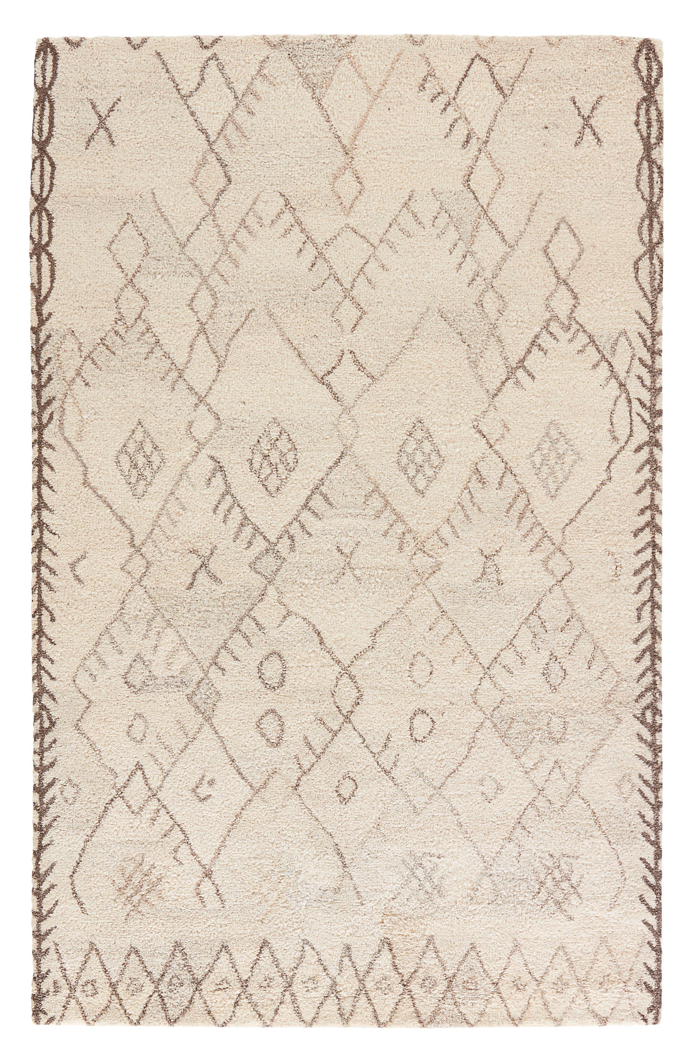 Jaipur Geo Pattern Wool Rug