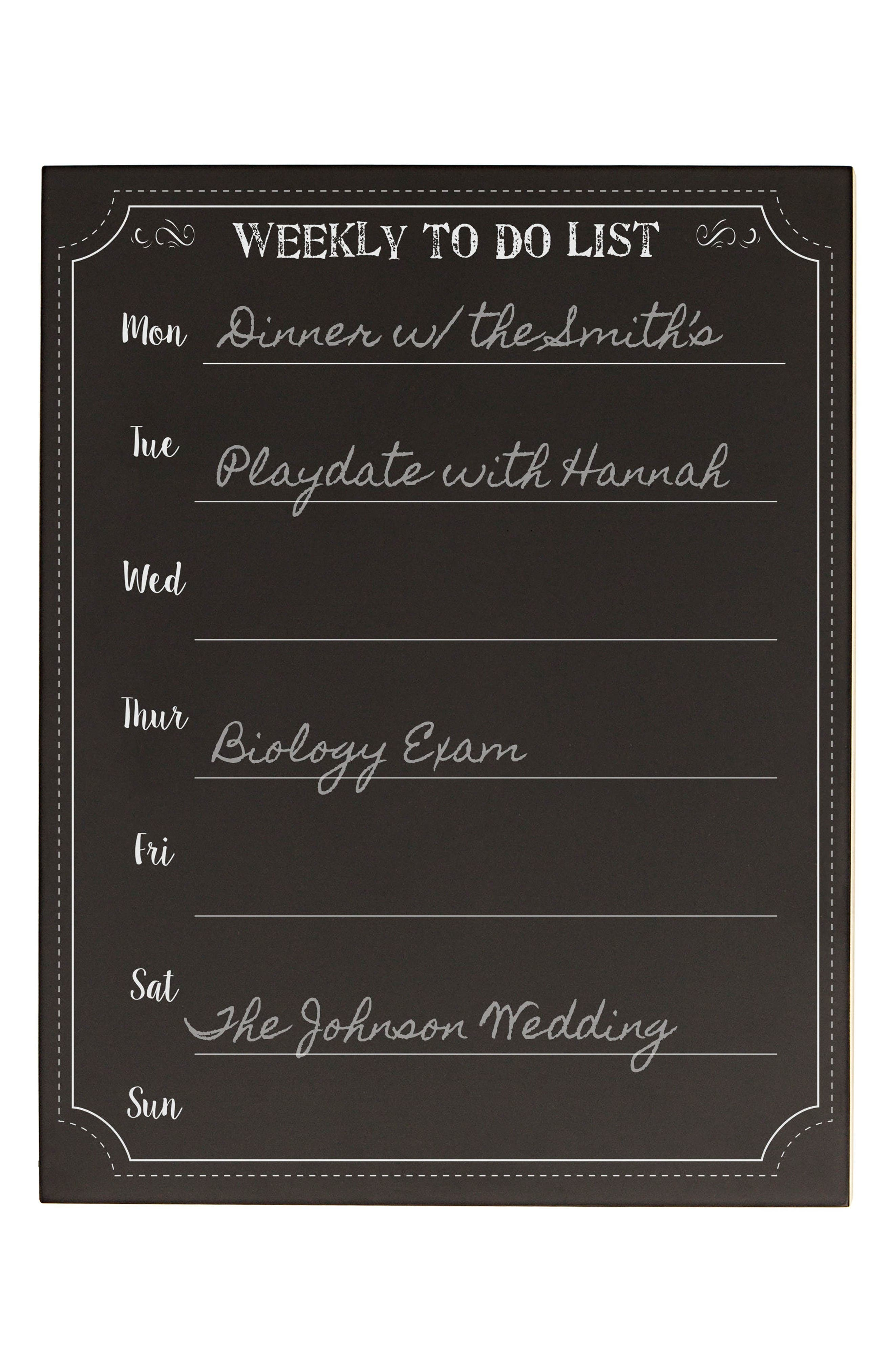 Alternate Image 2  - Cathy's Concept's Weekly Organizer Chalkboard