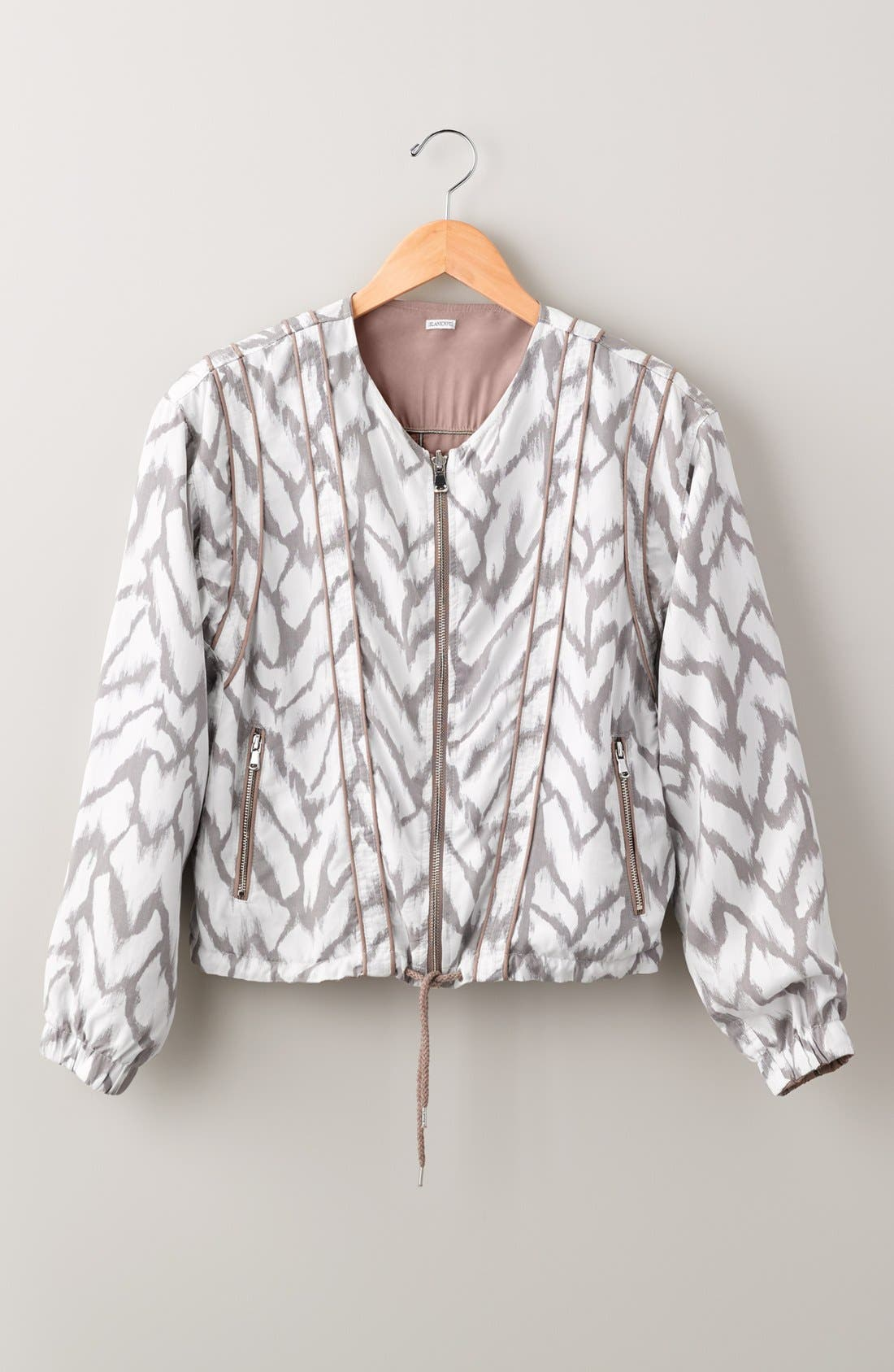 Deep Truth Reversible Jacket,                             Alternate thumbnail 2, color,                             Deep Truth Taupe/ White Print