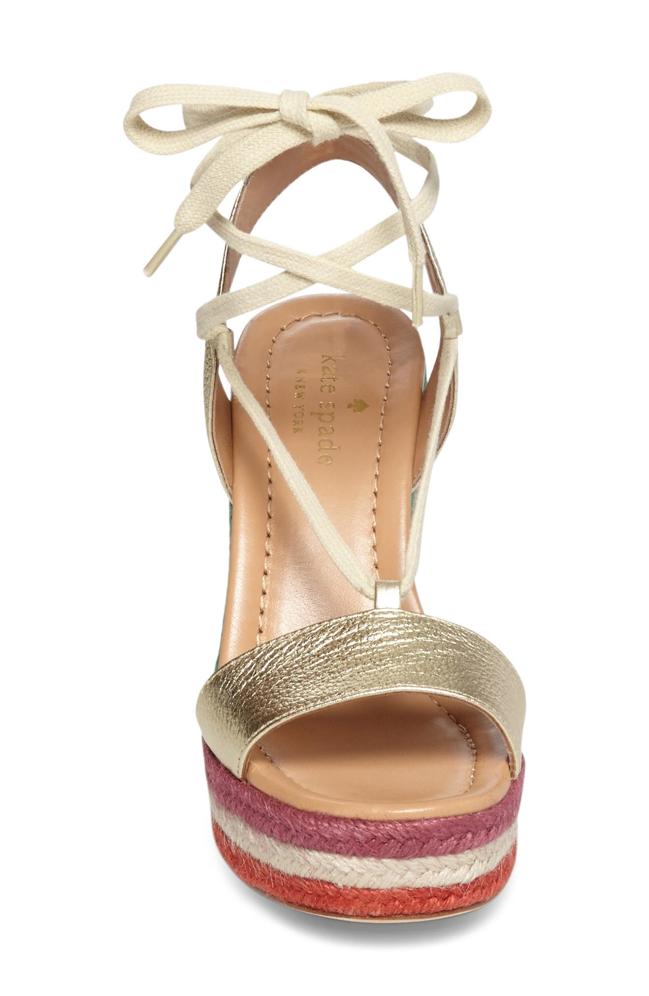 Alternate Image 3  - kate spade new york daisy too platform wedge espadrille (Women)