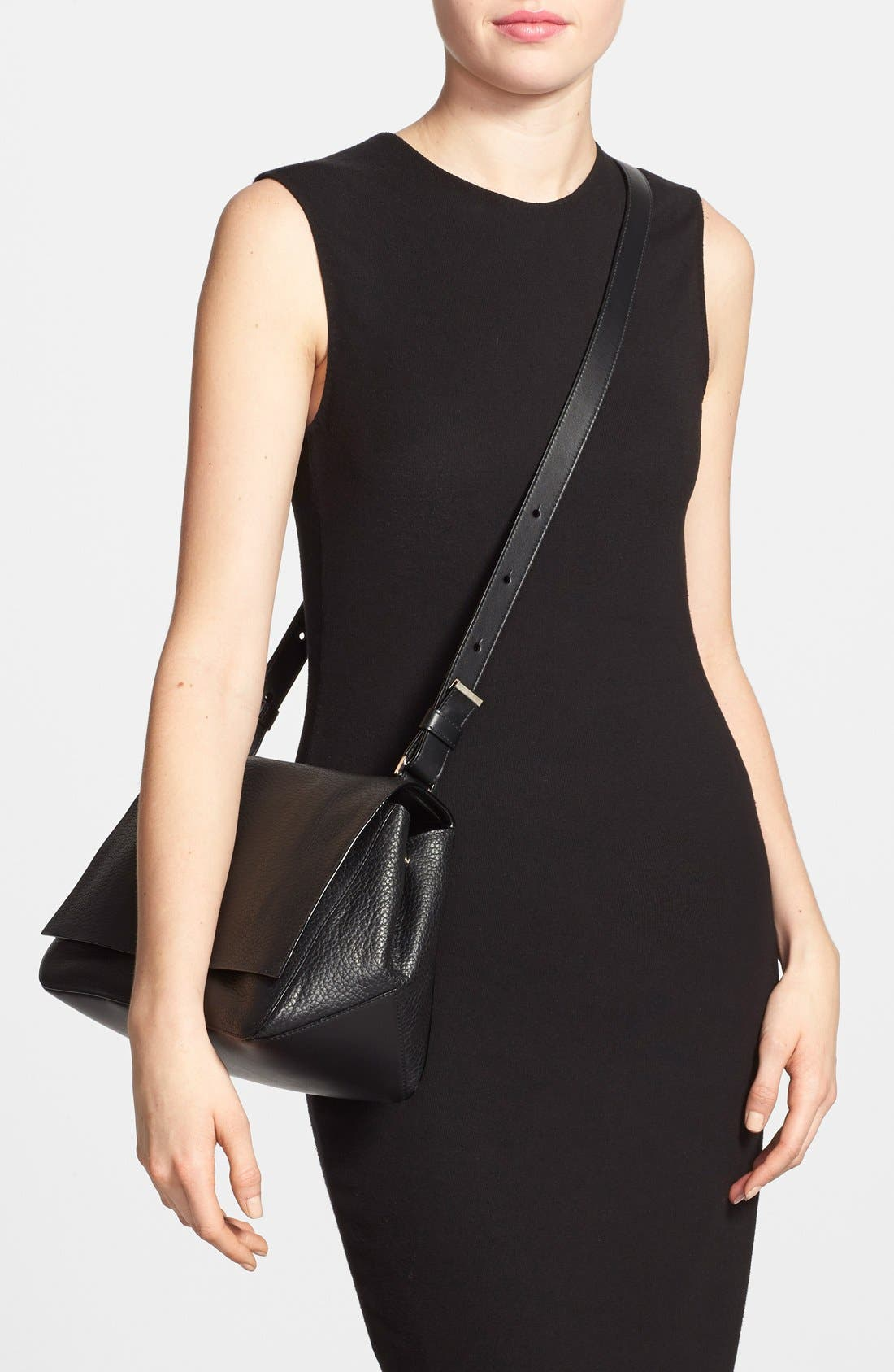 Alternate Image 2  - Proenza Schouler 'Courier' Pebbled Leather Crossbody Bag