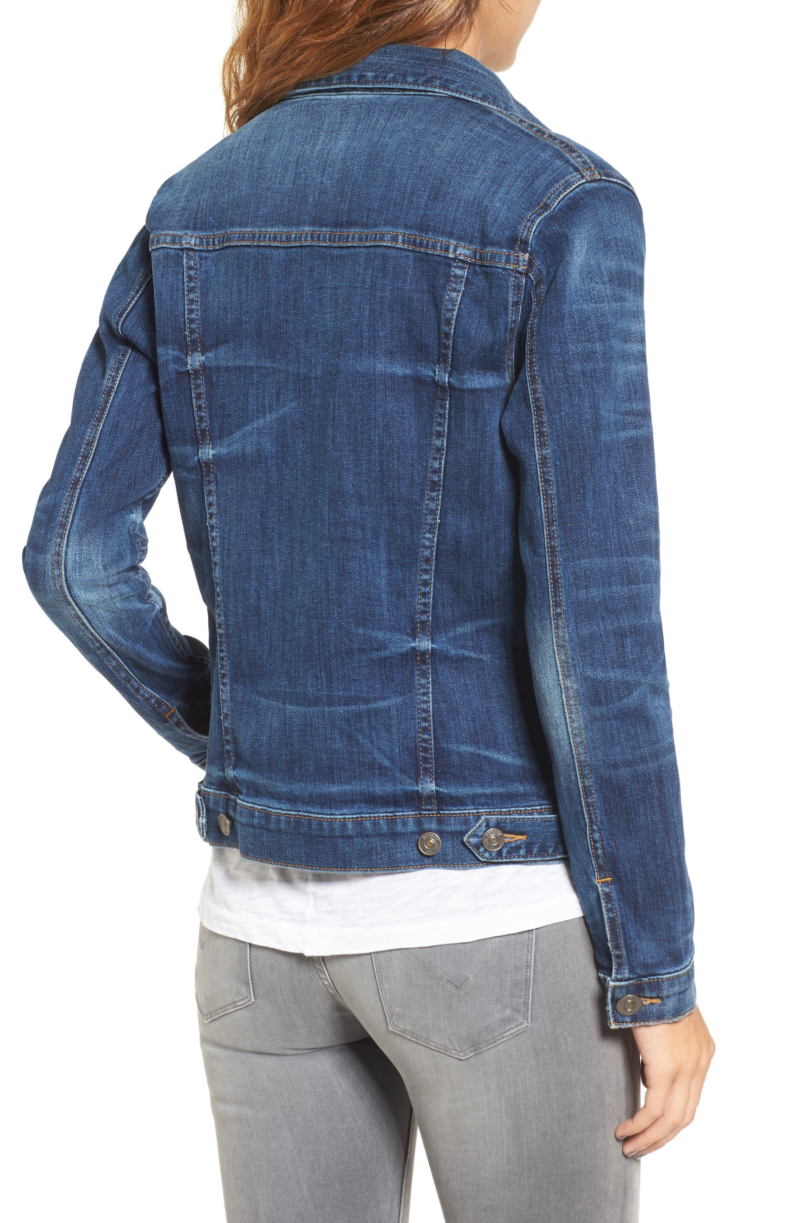 Alternate Image 2  - Hudson Jeans The Classic Denim Jacket