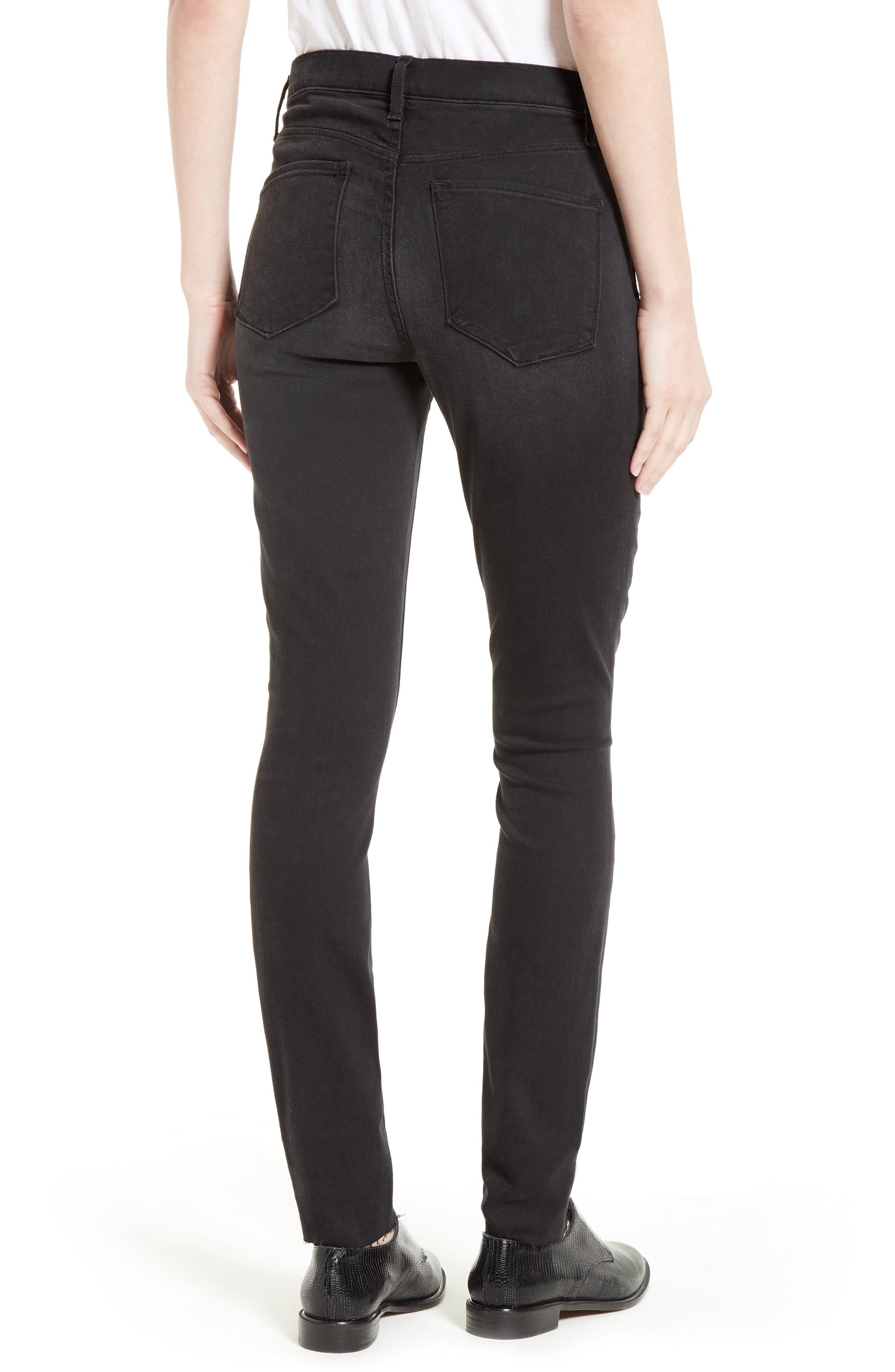 Alternate Image 2  - AYR The Skinny Stretch Denim Jeans