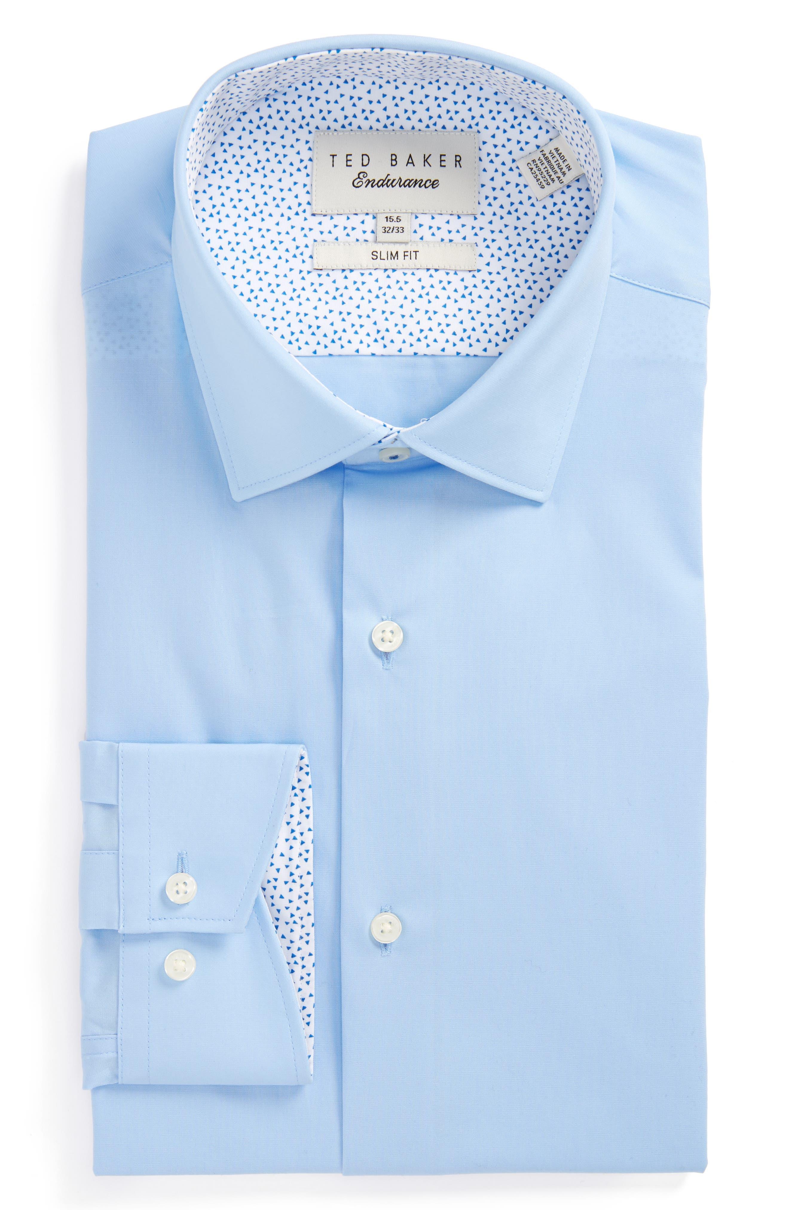 Main Image - Ted Baker London Booker Slim Fit Dress Shirt